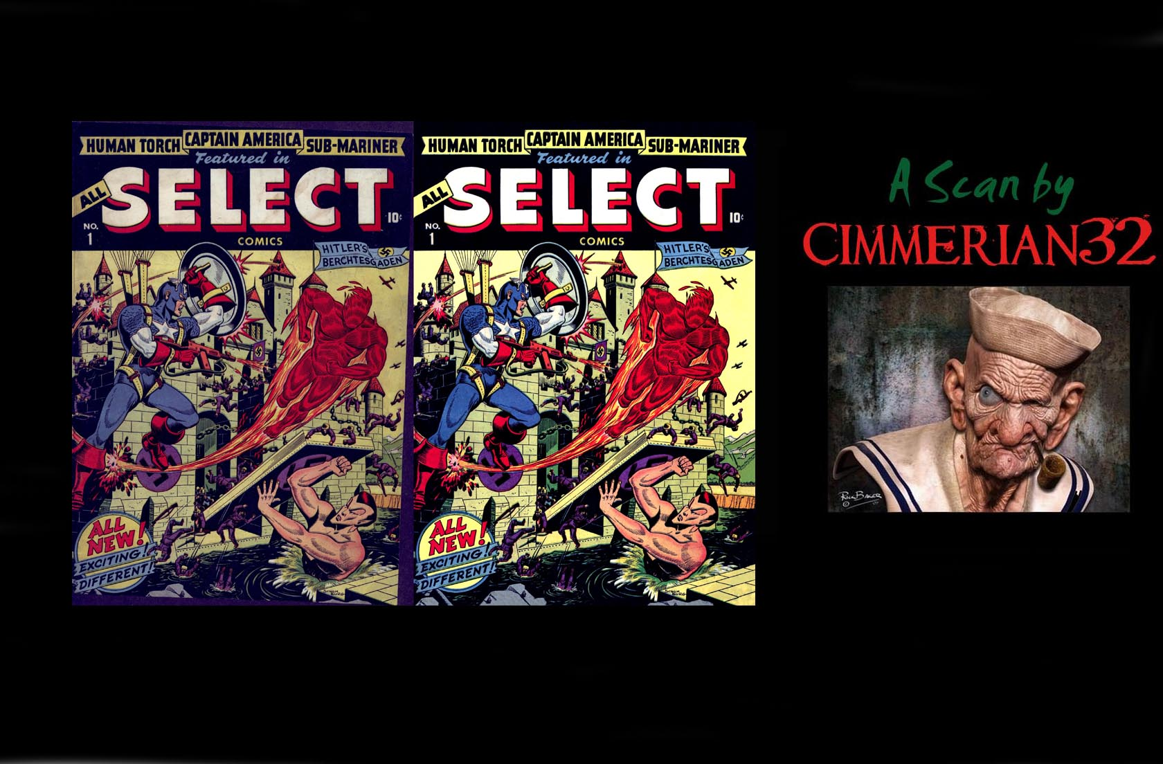 Read online All-Select Comics comic -  Issue #1 - 61