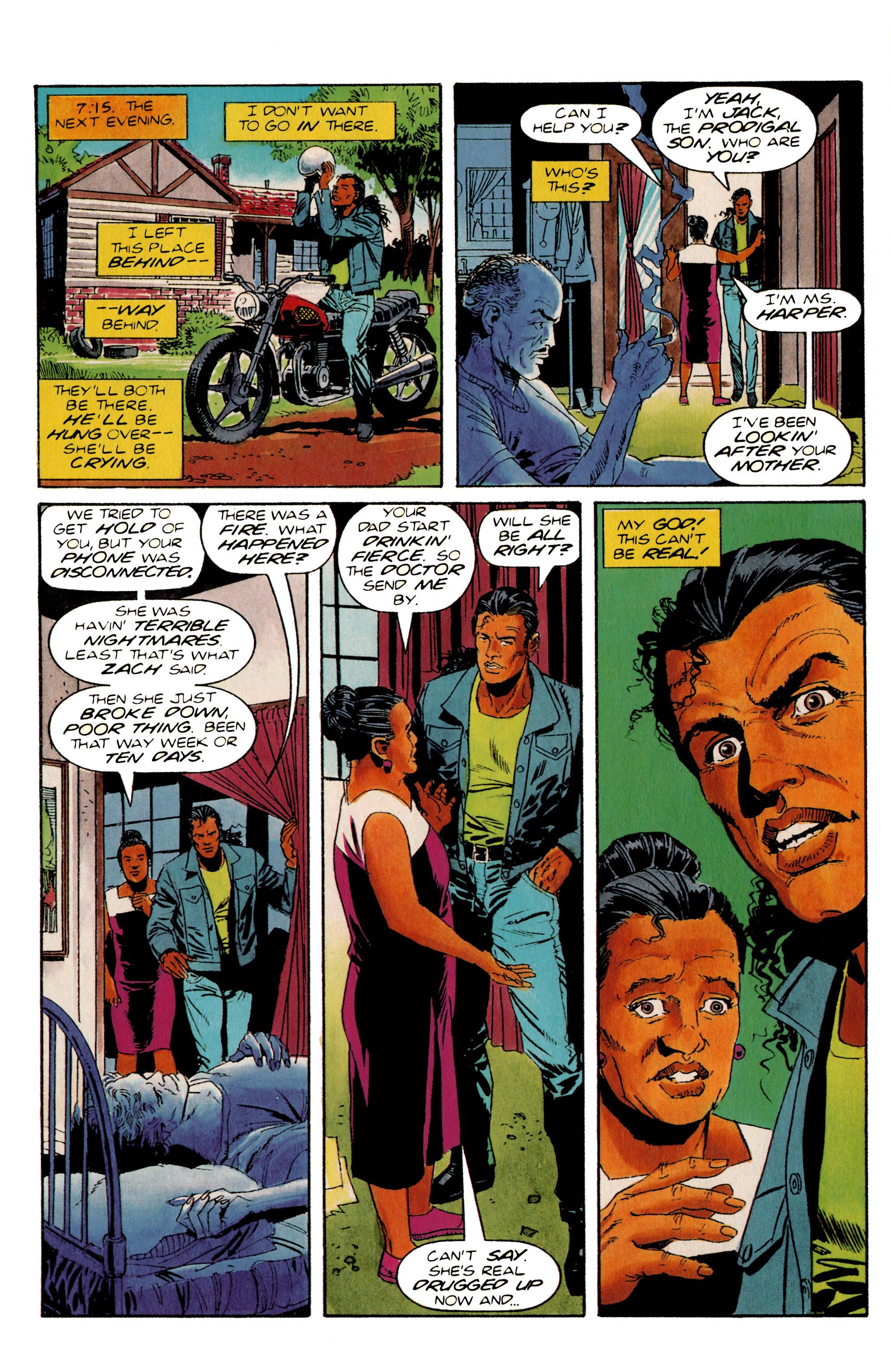 Read online Shadowman (1992) comic -  Issue #20 - 8