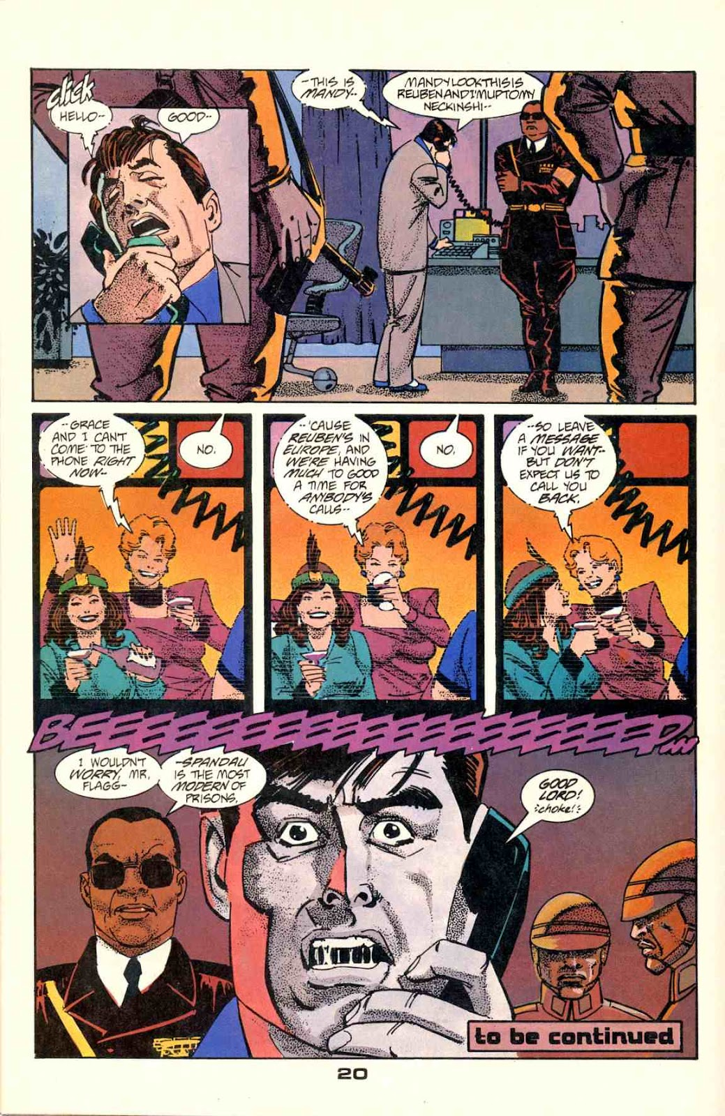 Howard Chaykin's American Flagg issue 2 - Page 22