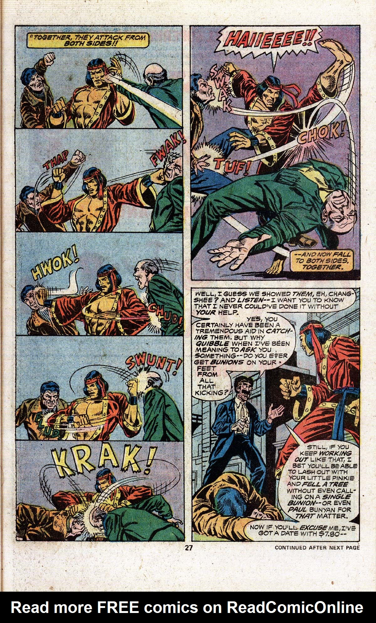 Read online Giant-Size Master of Kung Fu comic -  Issue #4 - 24