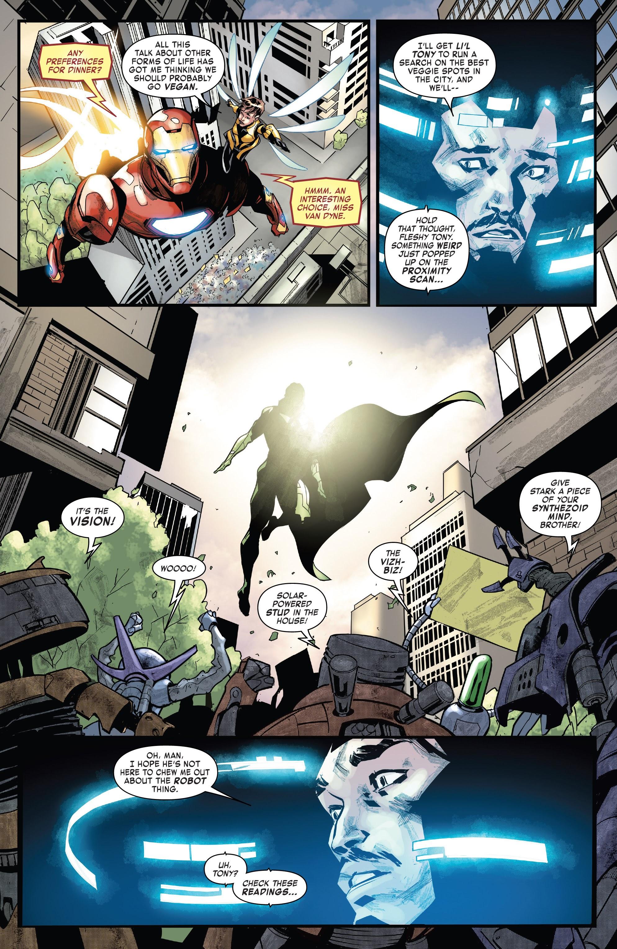 Read online Tony Stark: Iron Man comic -  Issue #15 - 13