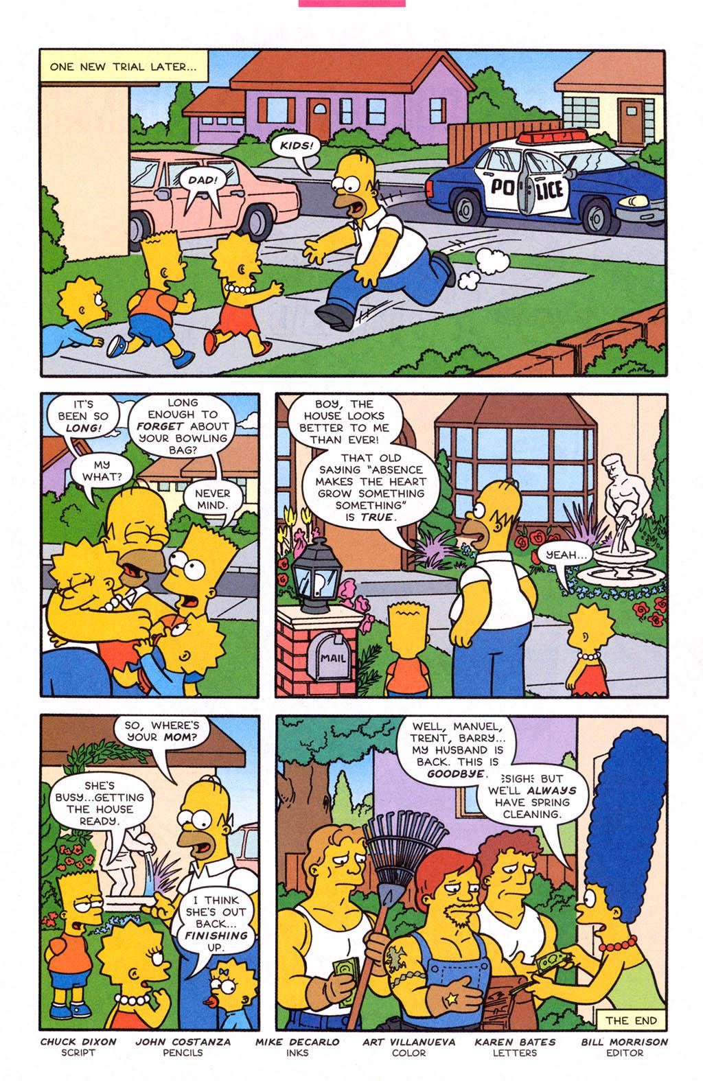 Read online Simpsons Comics comic -  Issue #108 - 28