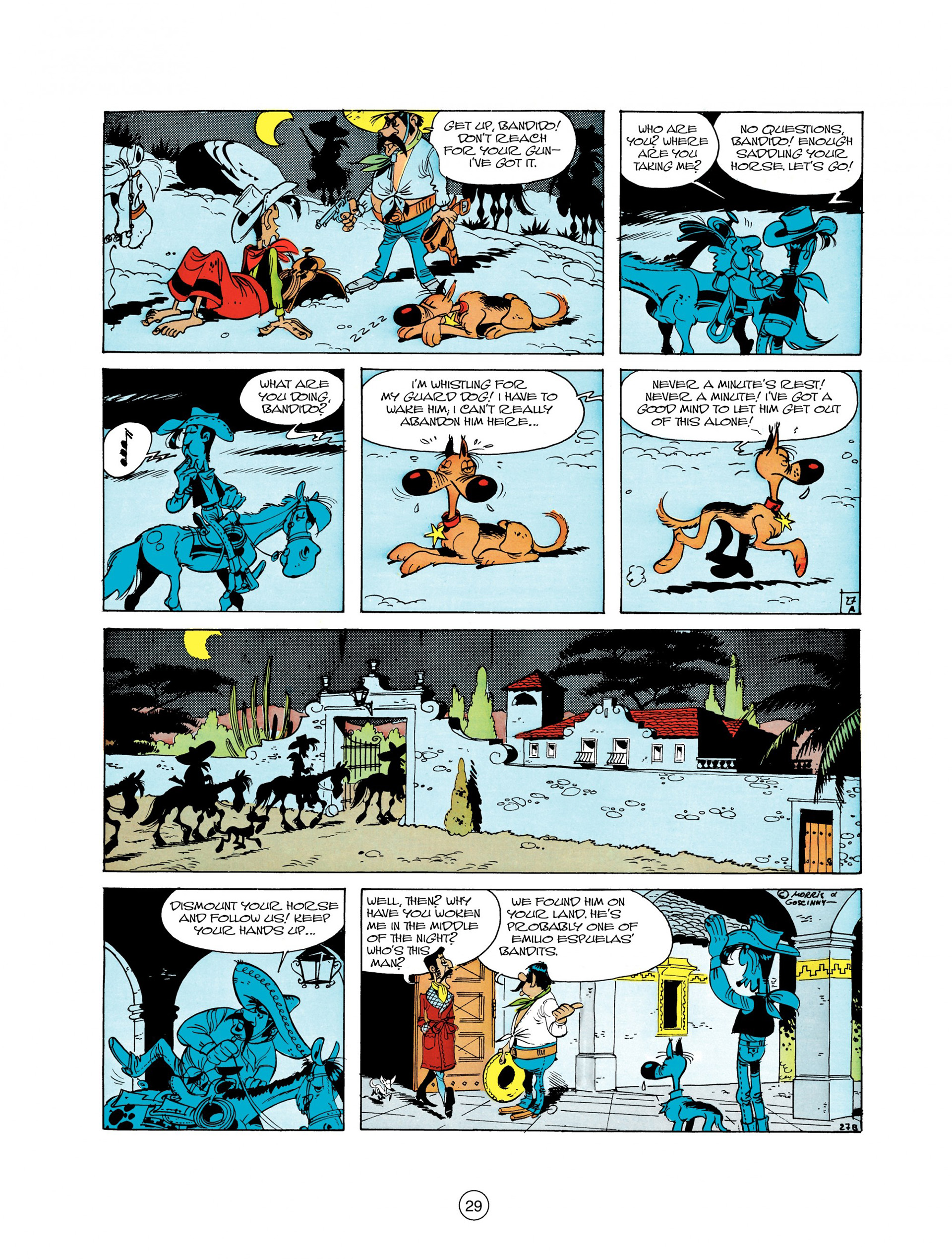 Read online A Lucky Luke Adventure comic -  Issue #10 - 29