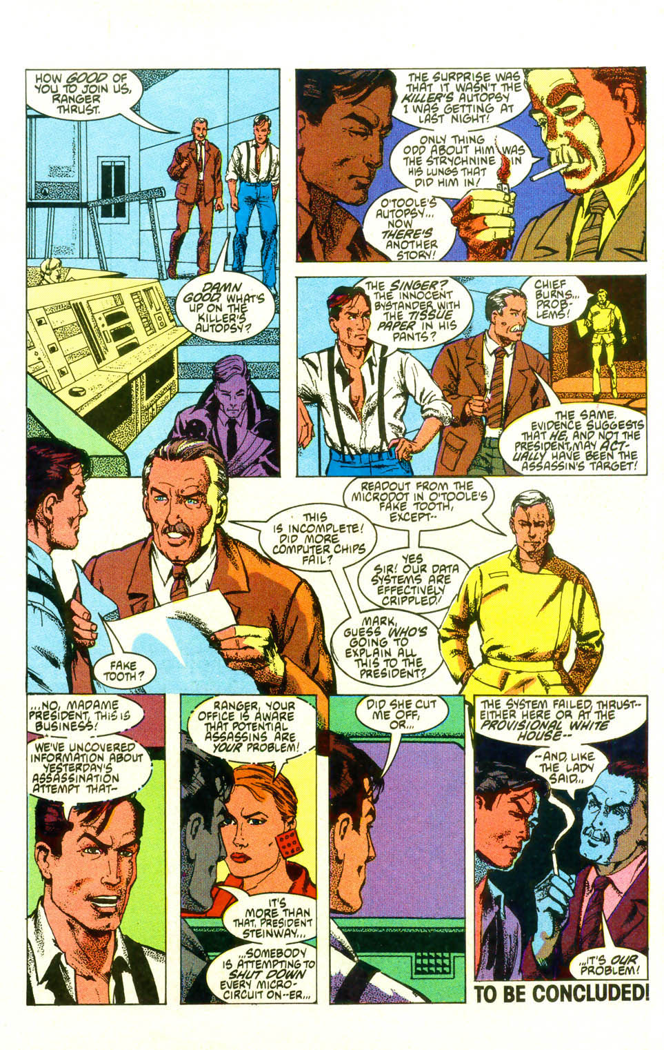Read online American Flagg! comic -  Issue #19 - 31