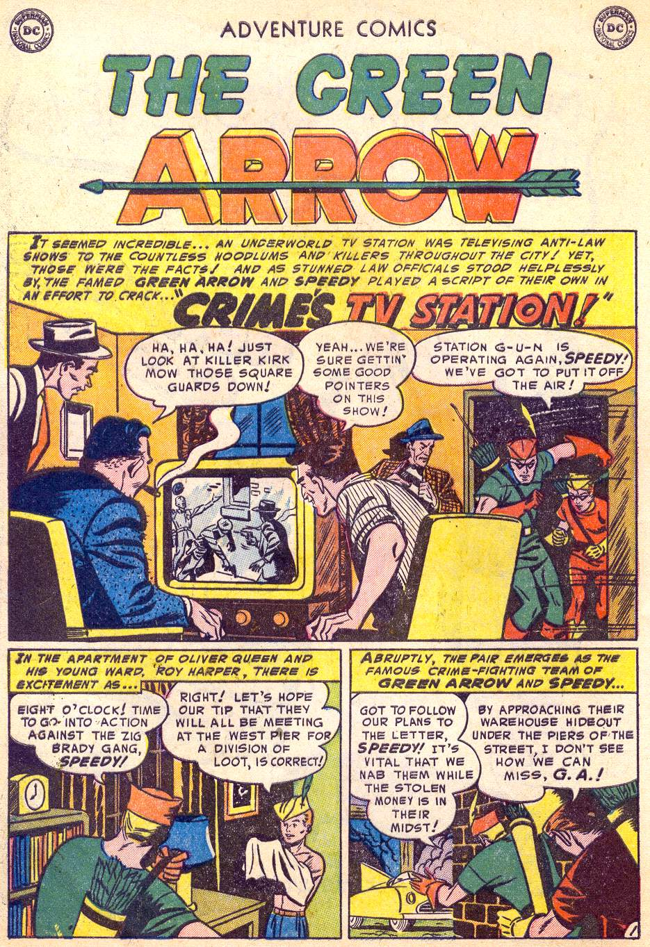 Read online Adventure Comics (1938) comic -  Issue #197 - 34