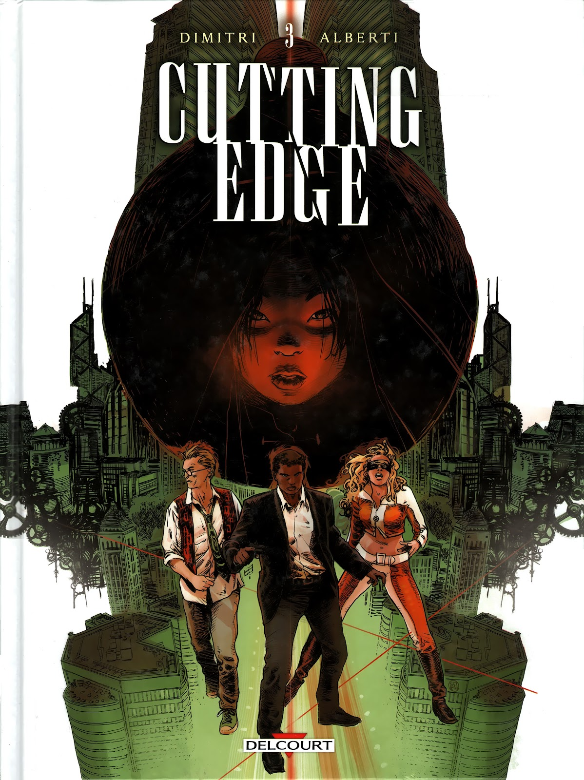 Read online Cutting Edge (2013) comic -  Issue #3 - 1