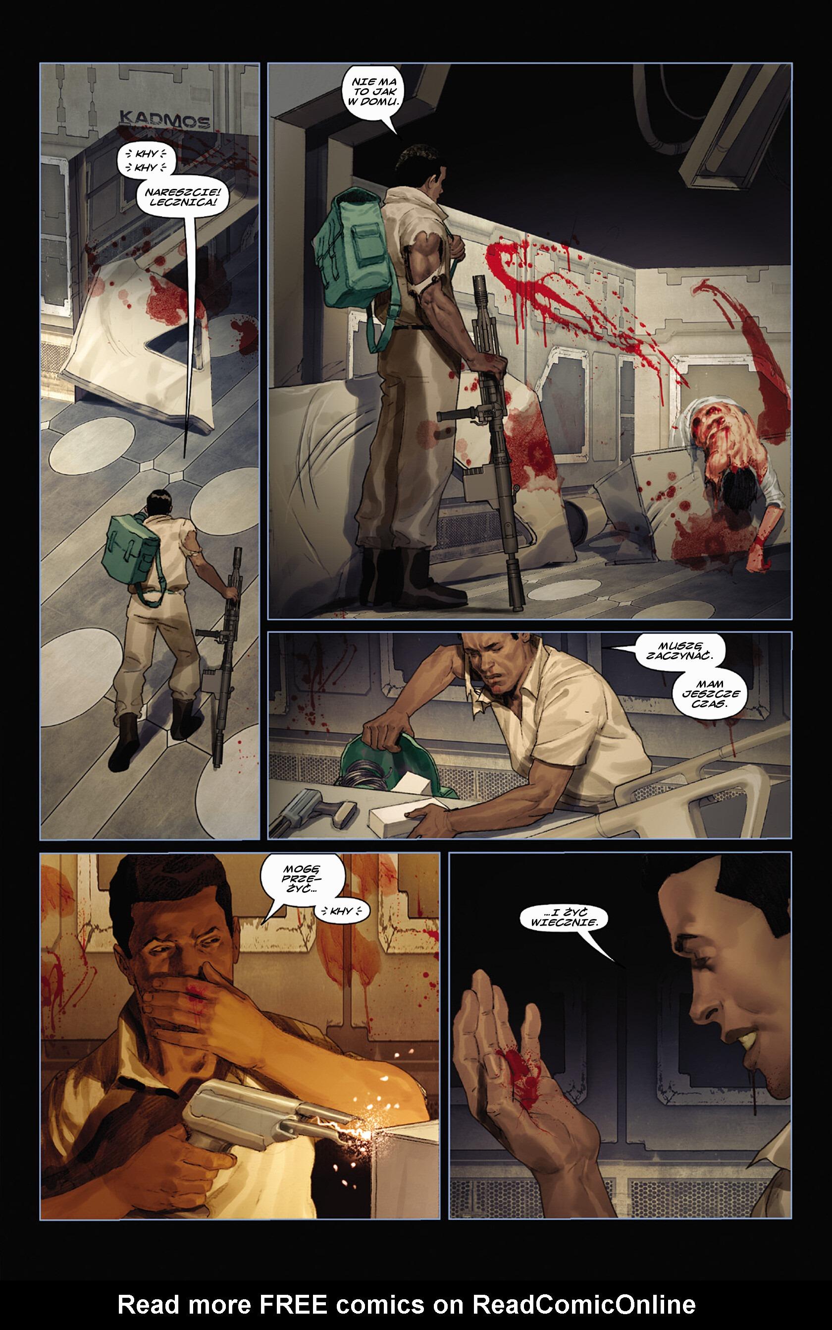 Read online Alien vs. Predator: Fire and Stone comic -  Issue #3 - 7