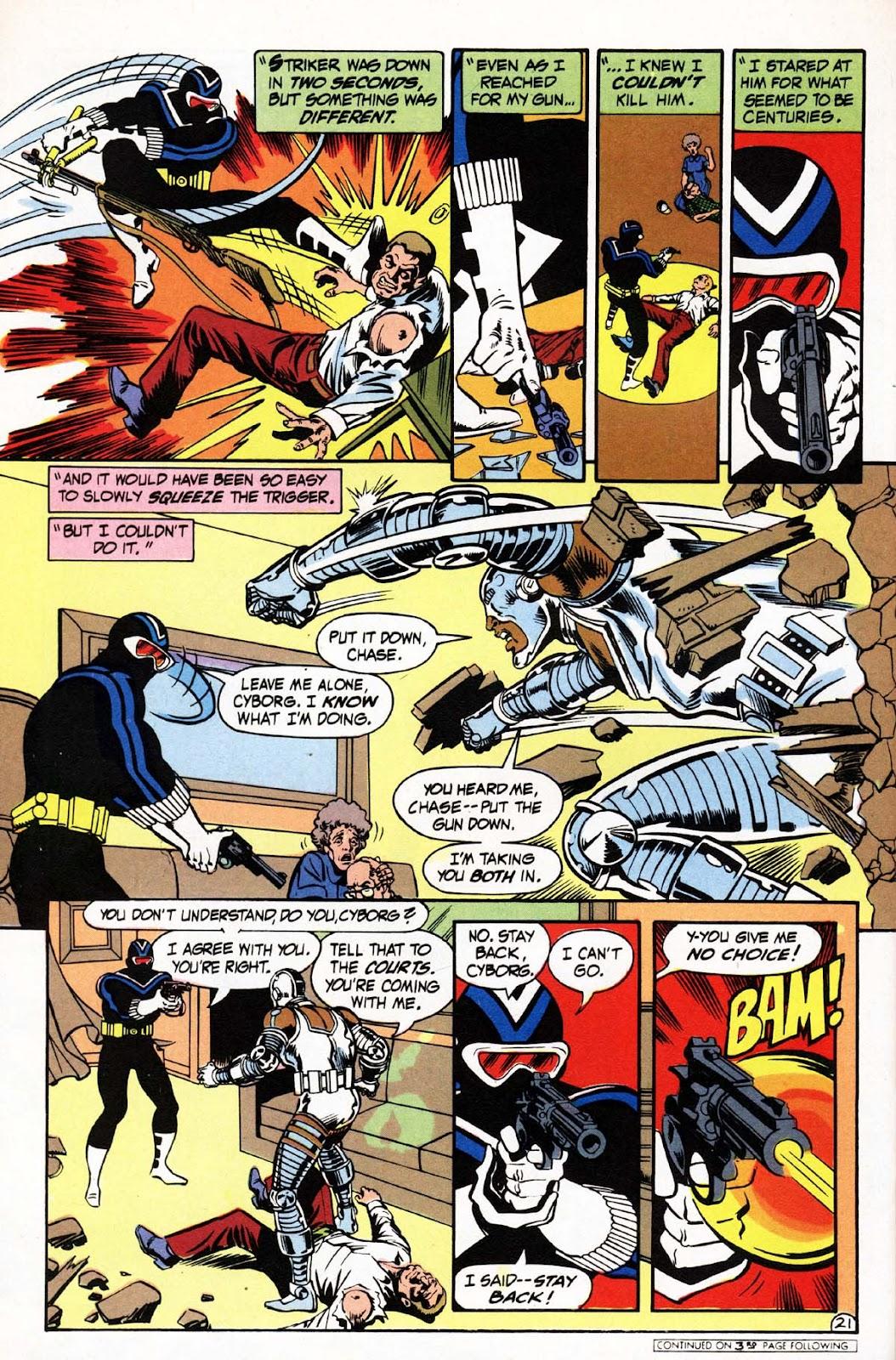 Vigilante (1983) issue 3 - Page 22