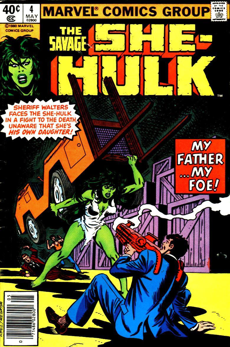 The Savage She-Hulk 4 Page 1