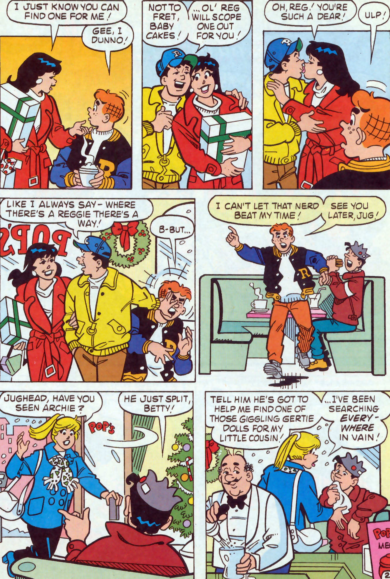 Read online Archie (1960) comic -  Issue #467 - 15