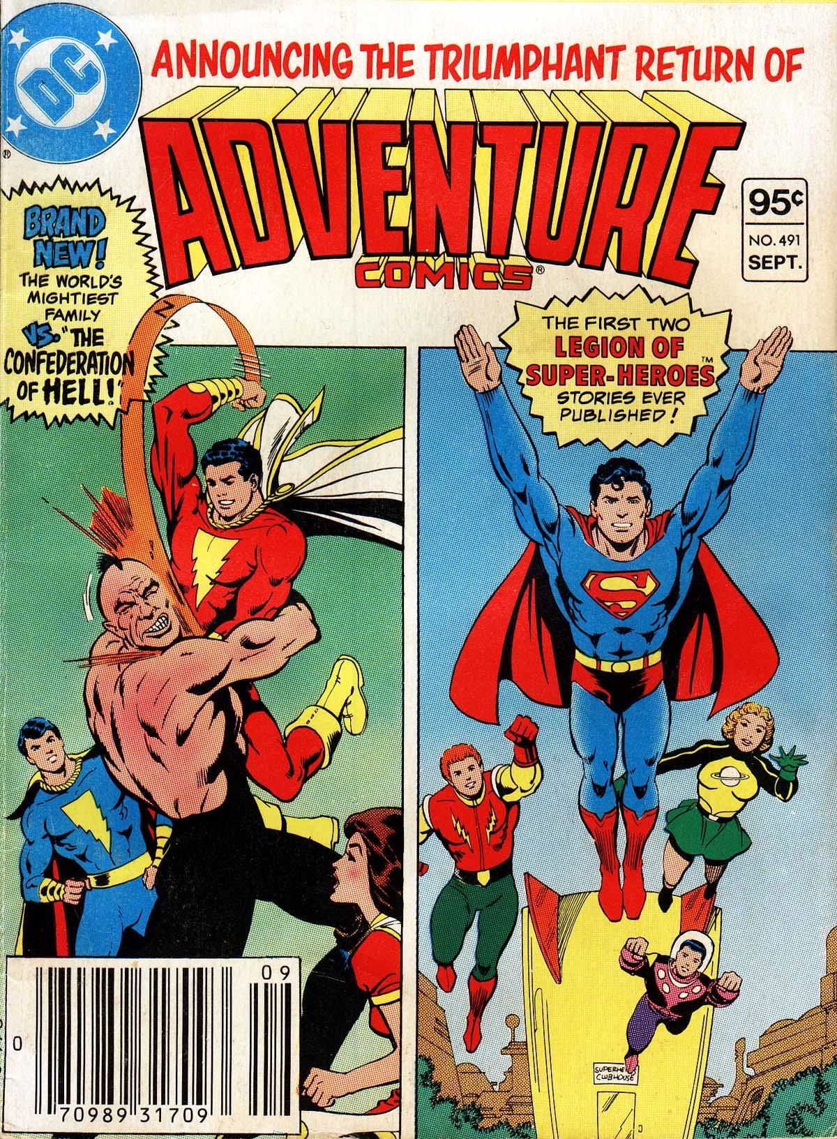 Read online Adventure Comics (1938) comic -  Issue #491 - 1