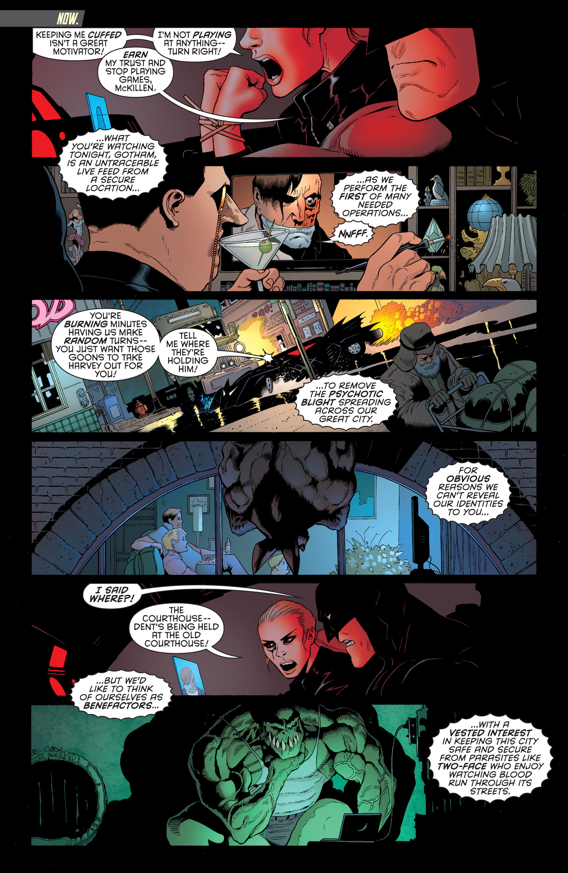 Read online Batman and Robin (2011) comic -  Issue #28 - Batman and Two-Face - 2