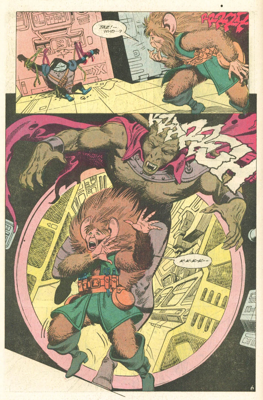 Read online Atari Force (1984) comic -  Issue #14 - 8