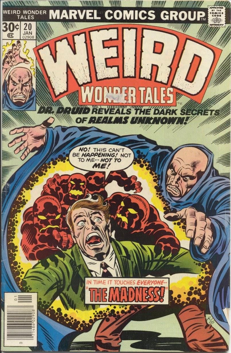 Weird Wonder Tales issue 20 - Page 1