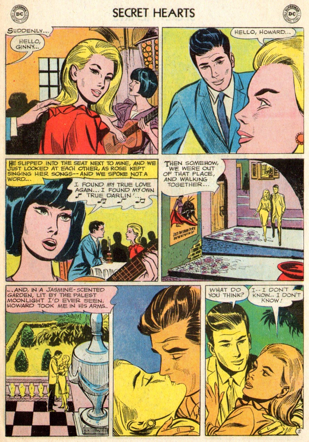 Read online Secret Hearts comic -  Issue #103 - 7