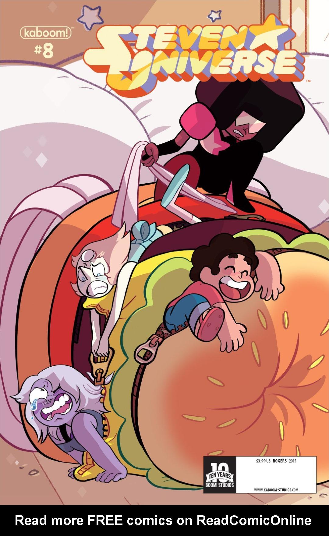 Steven Universe 8 Page 1