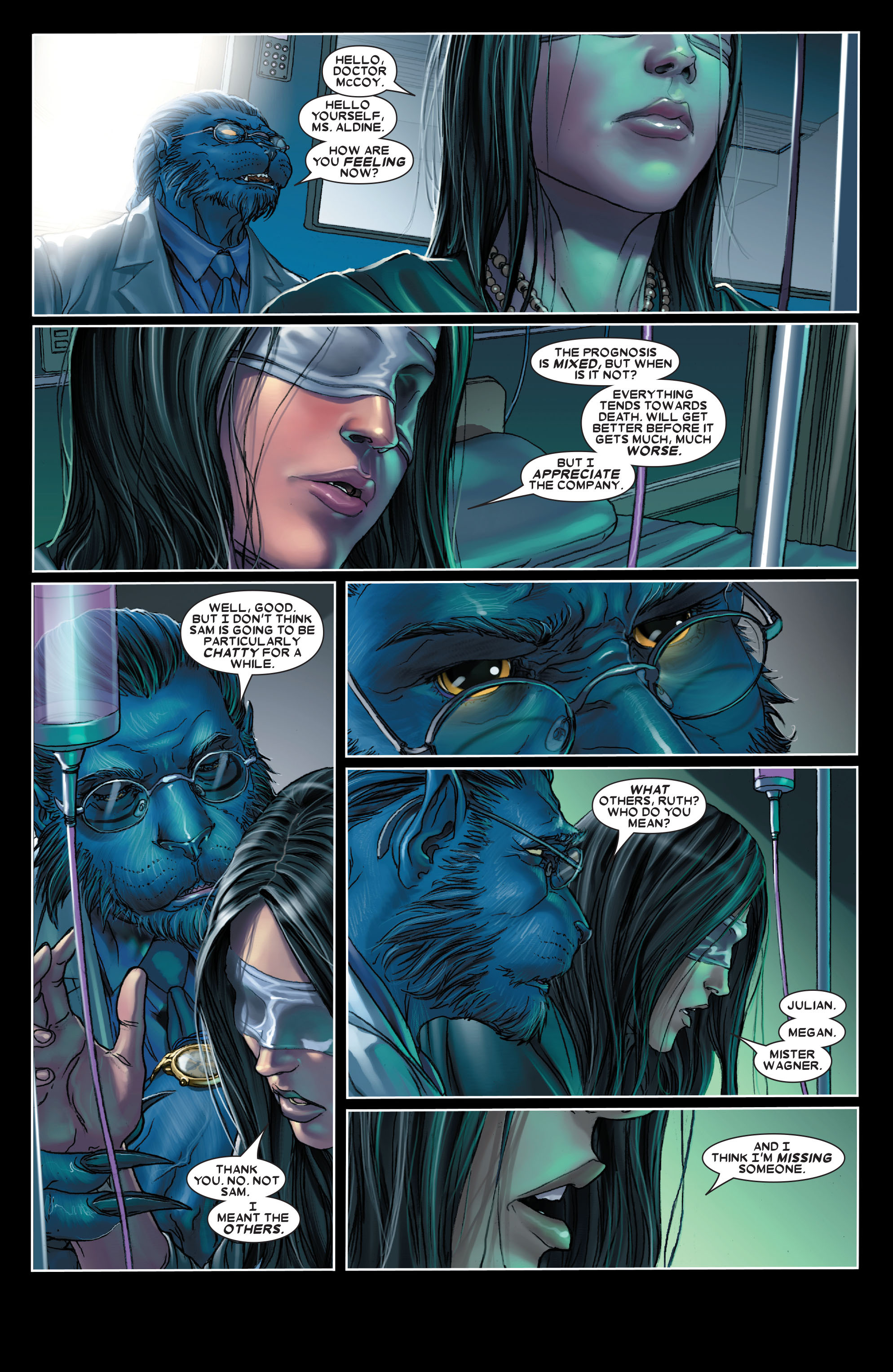 X-Men (1991) 204 Page 3