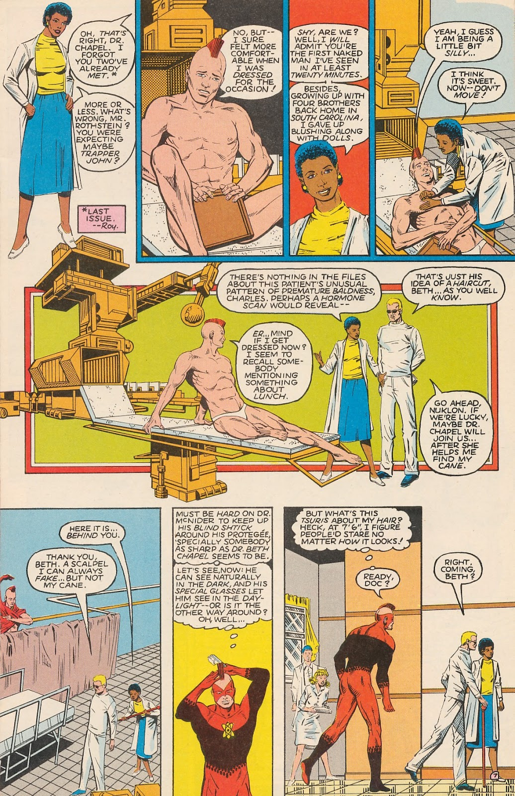 Infinity Inc. (1984) issue 20 - Page 11
