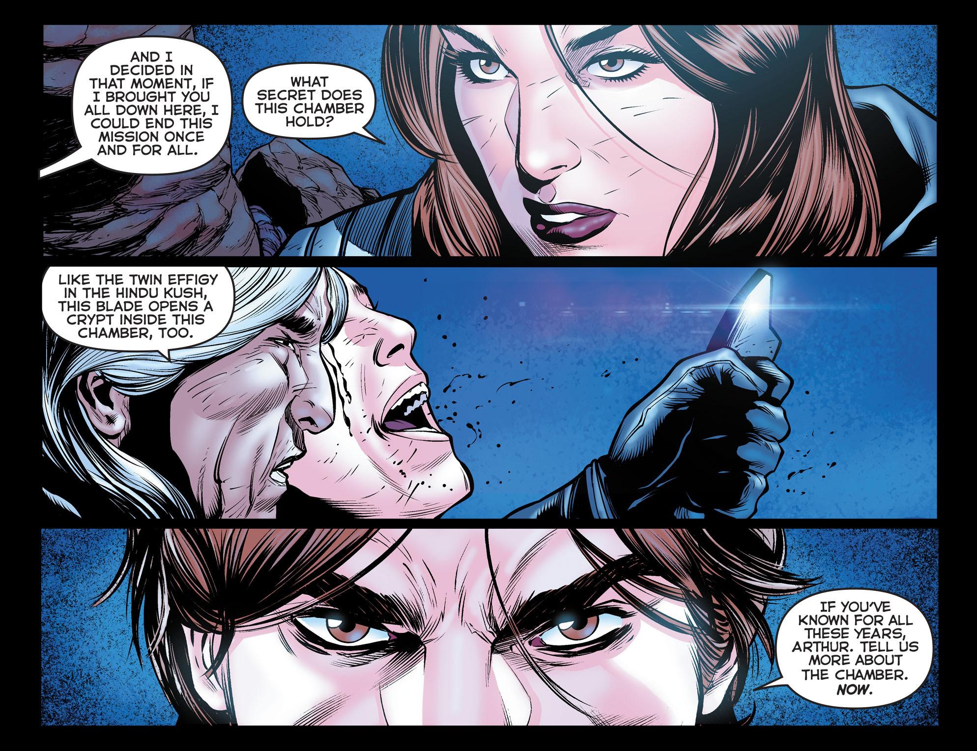 Read online Arrow: The Dark Archer comic -  Issue #11 - 12
