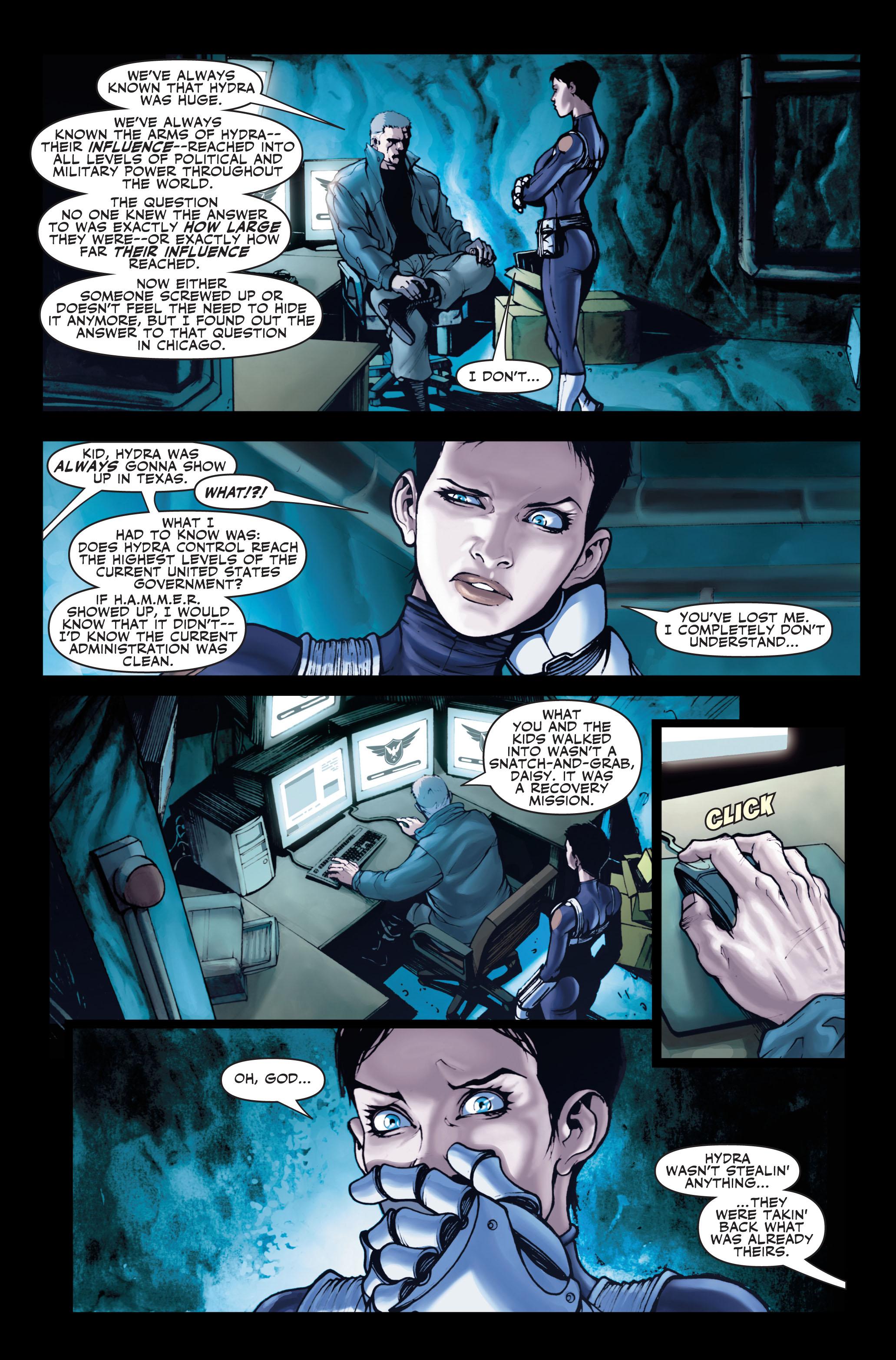 Read online Secret Warriors comic -  Issue #1 - 24