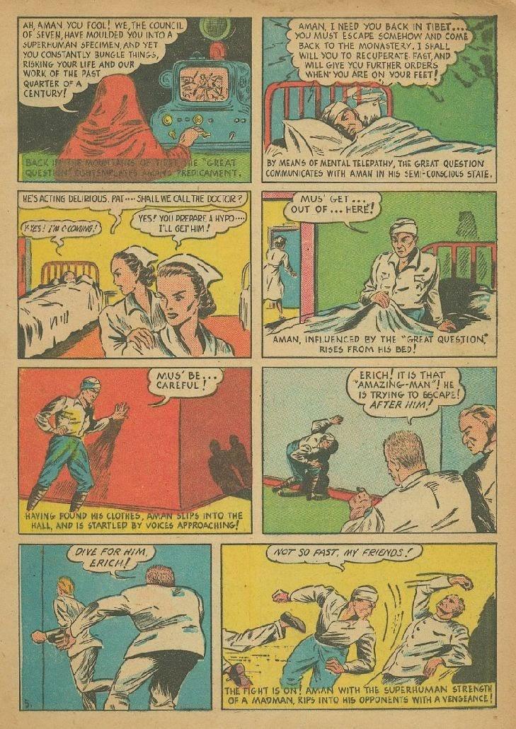 Read online Amazing Man Comics comic -  Issue #9 - 8