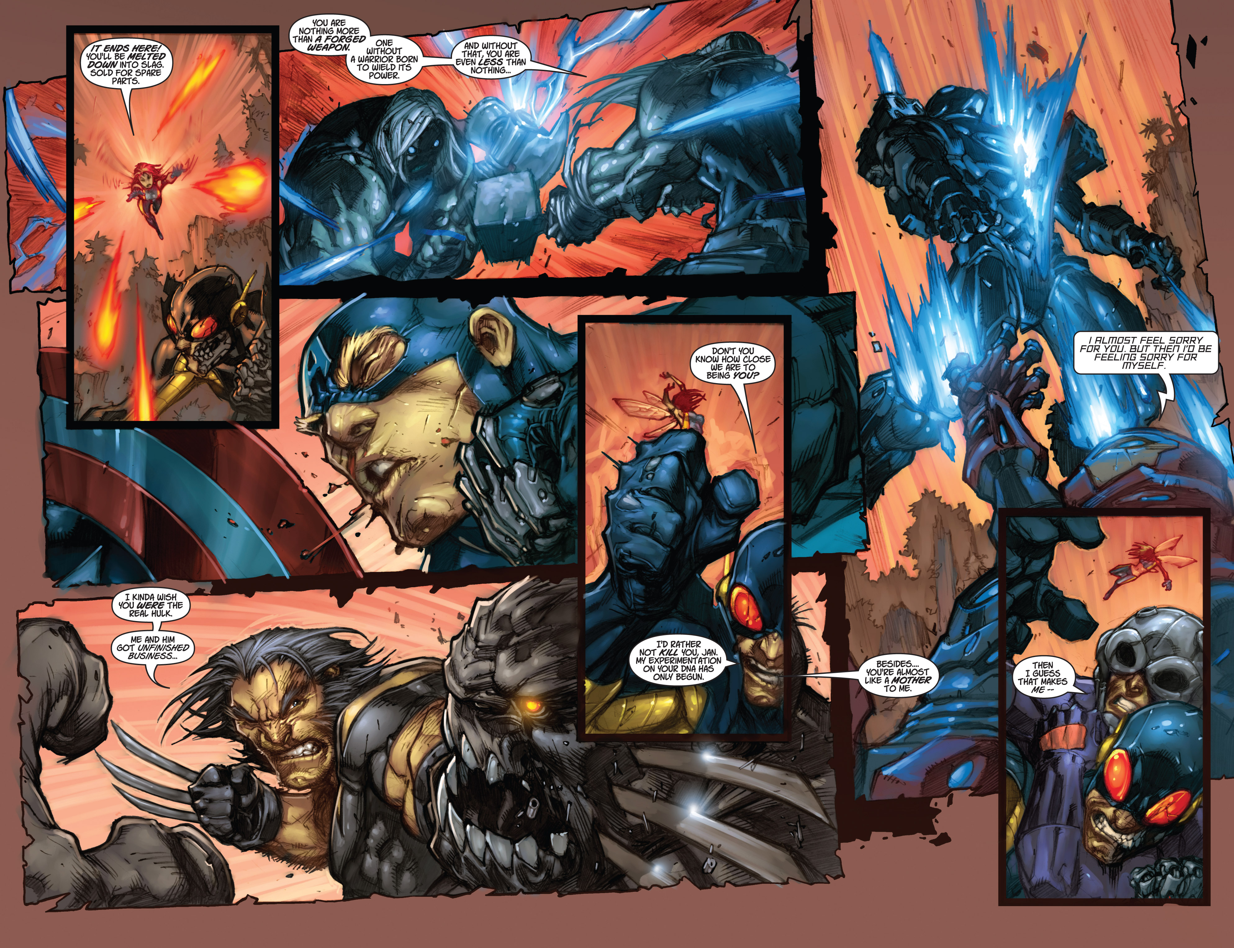 Read online Ultimates 3 comic -  Issue #5 - 17