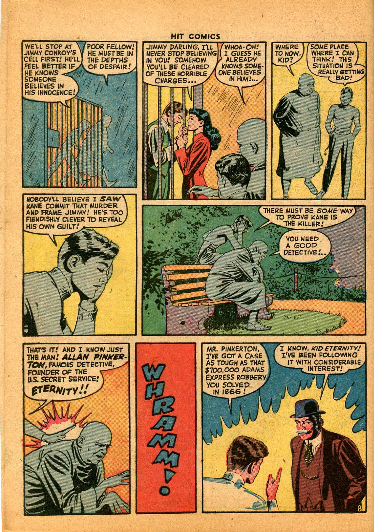 Read online Hit Comics comic -  Issue #35 - 10
