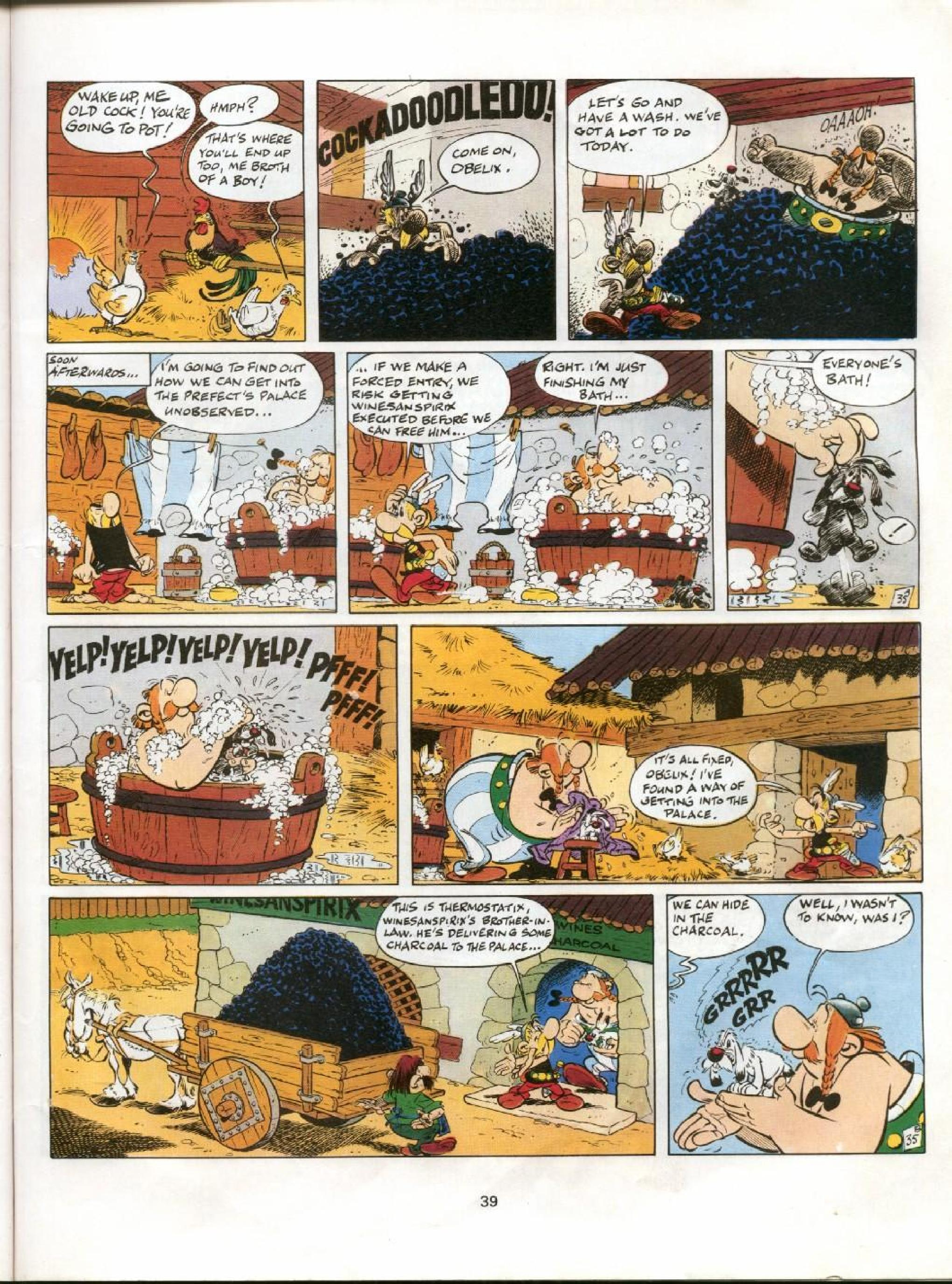 Read online Asterix comic -  Issue #11 - 36