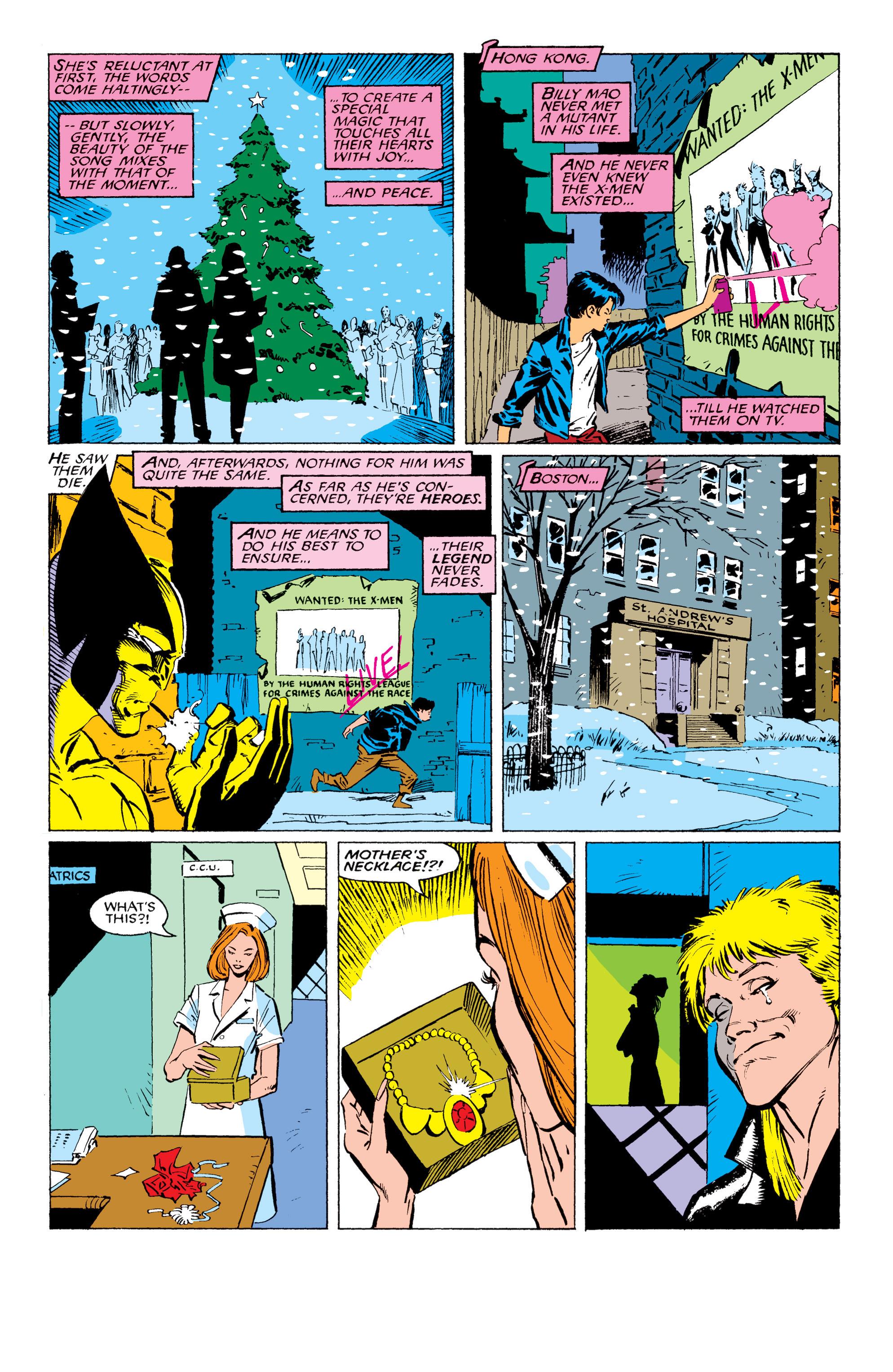 Read online Uncanny X-Men (1963) comic -  Issue #230 - 21