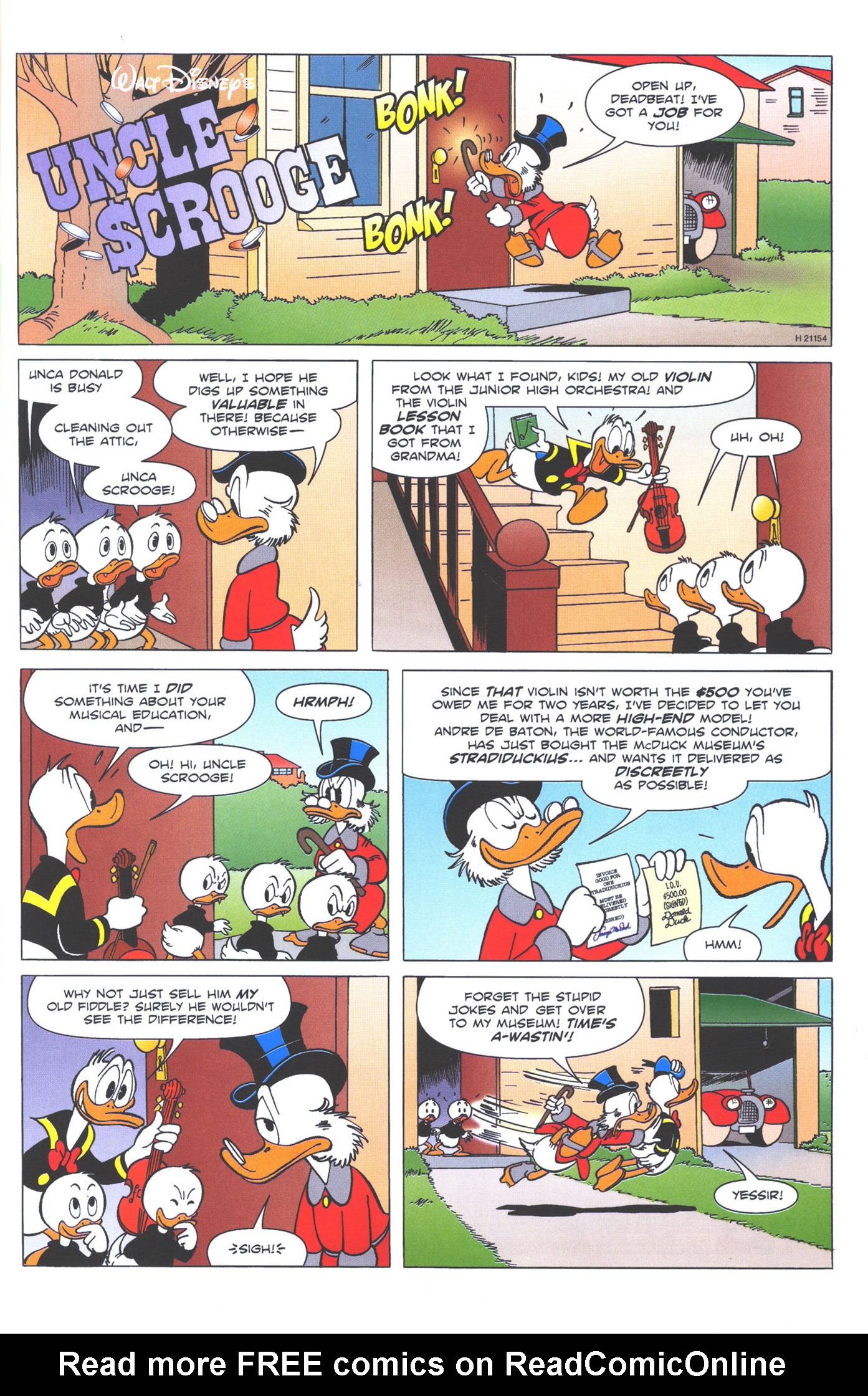 Read online Uncle Scrooge (1953) comic -  Issue #374 - 63