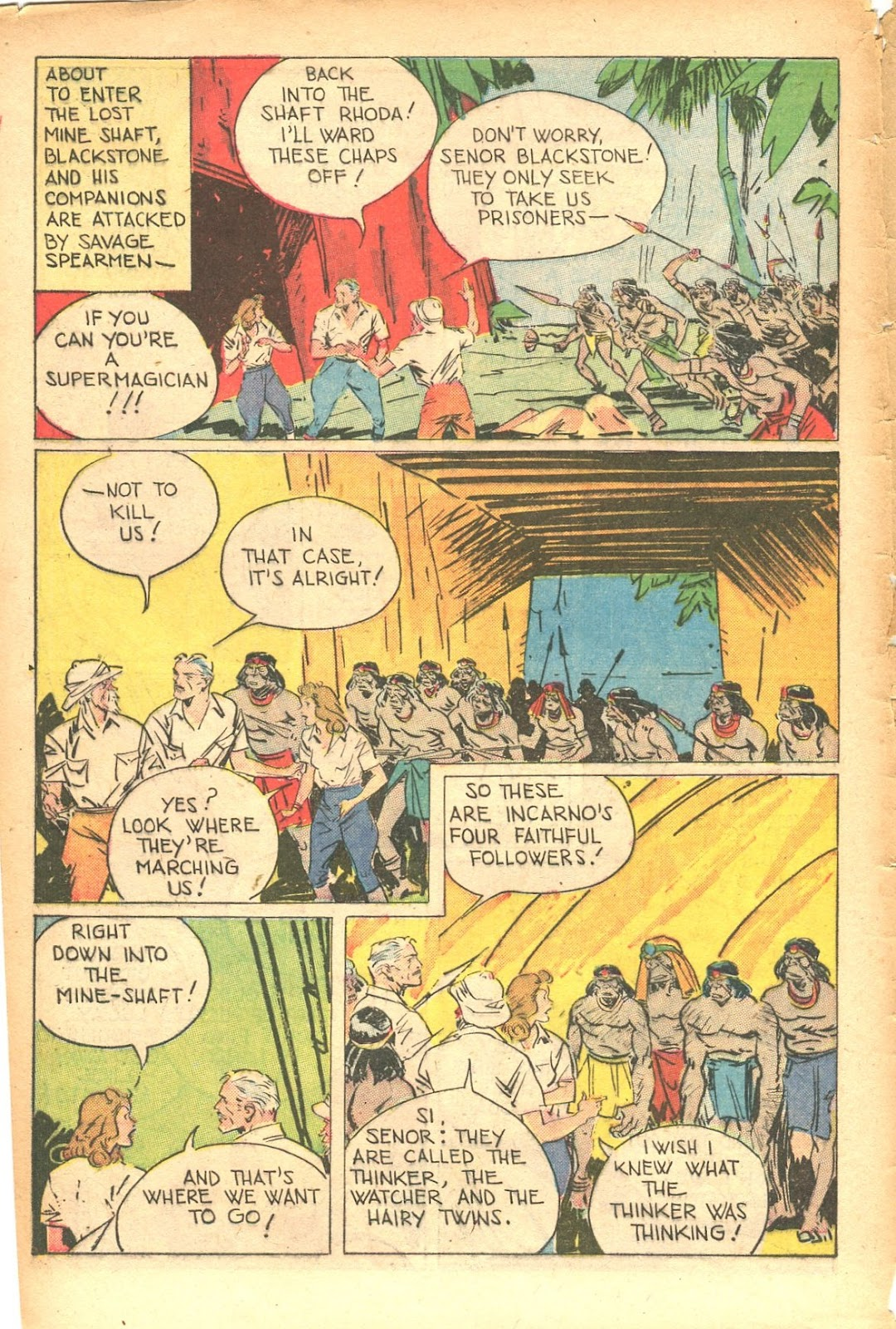 Read online Super-Magician Comics comic -  Issue #35 - 6