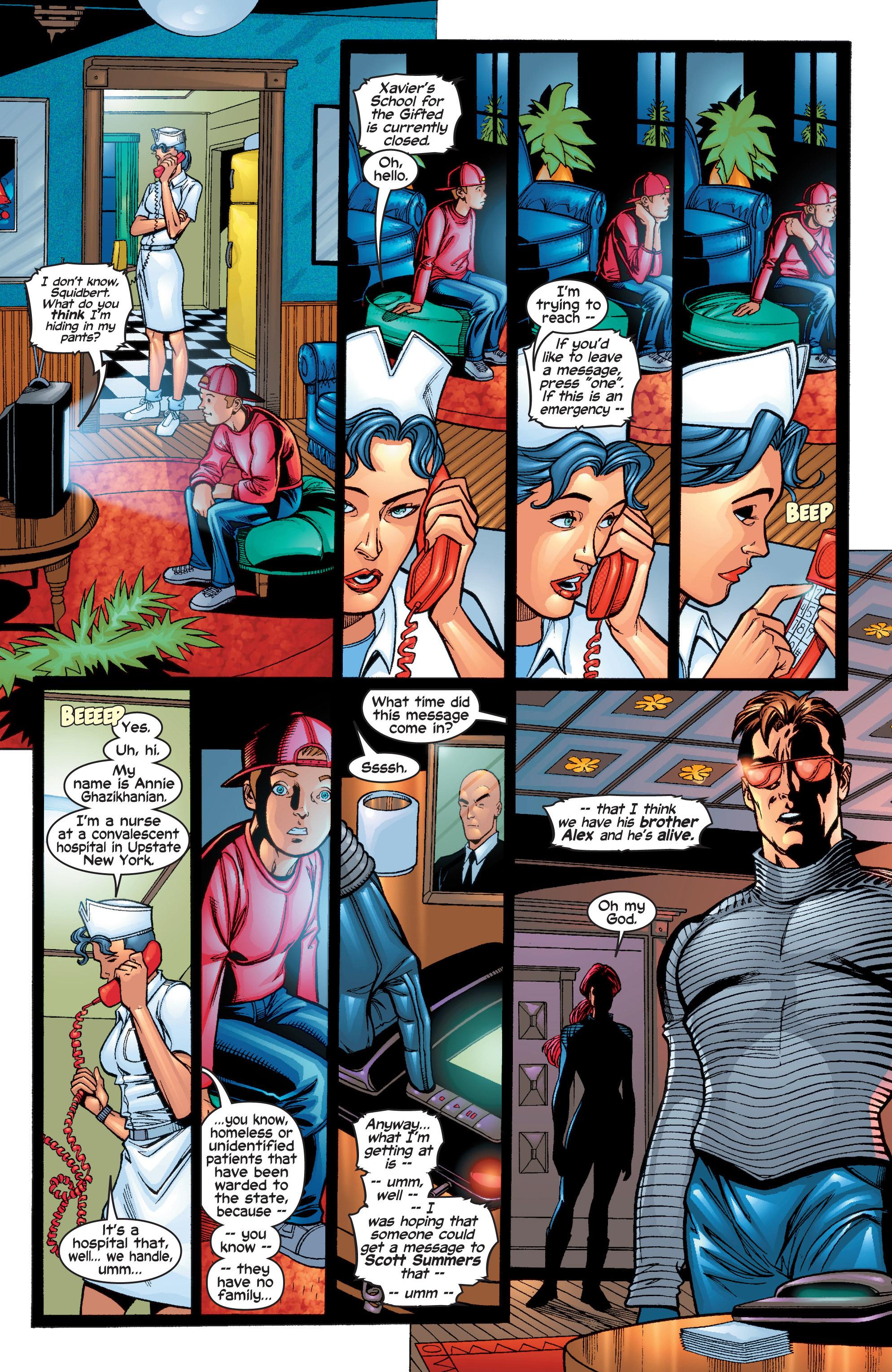 Read online Uncanny X-Men (1963) comic -  Issue #411 - 21