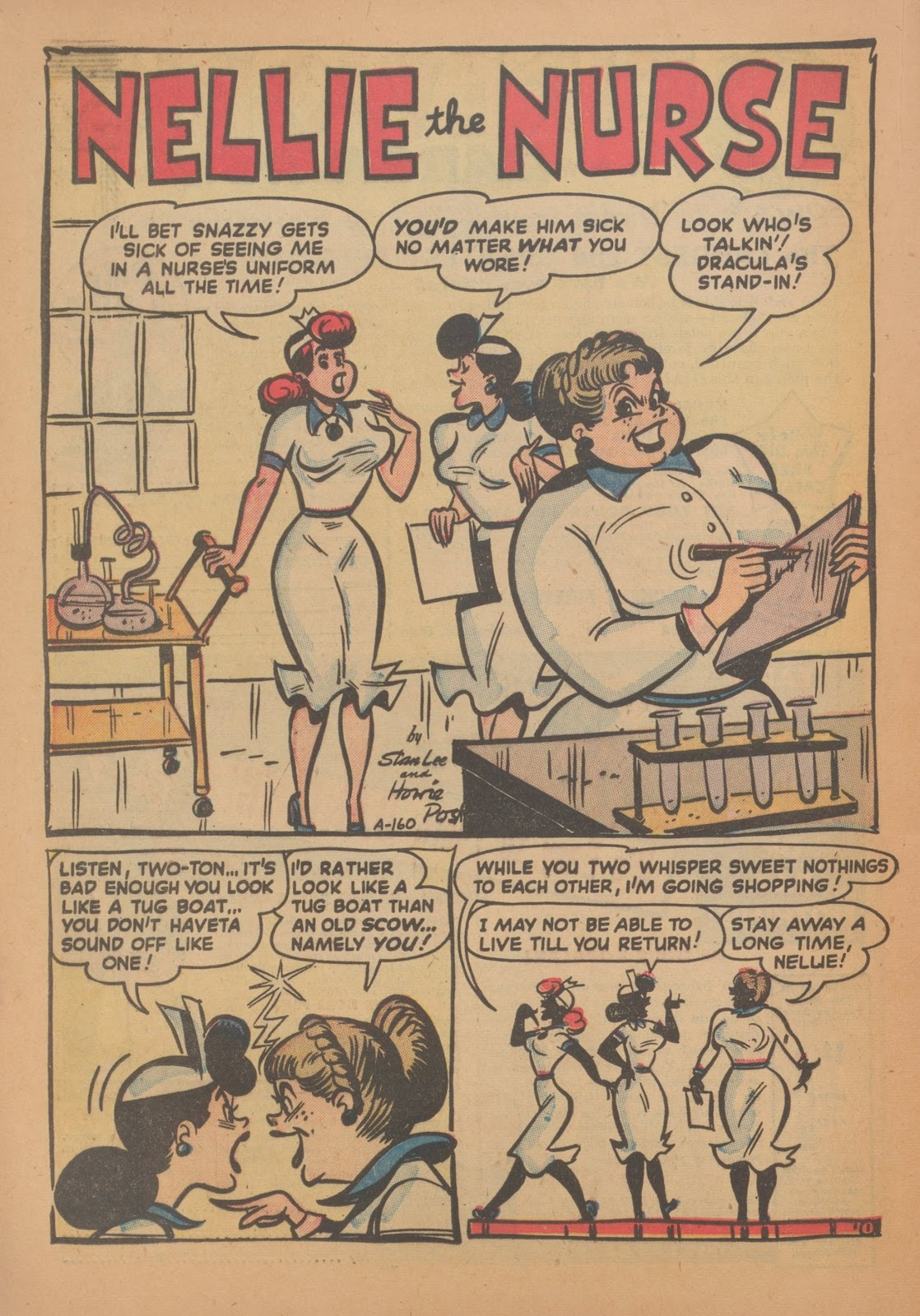 Read online Nellie The Nurse (1945) comic -  Issue #35 - 20