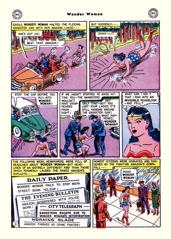 Read online Wonder Woman (1942) comic -  Issue #59 - 7