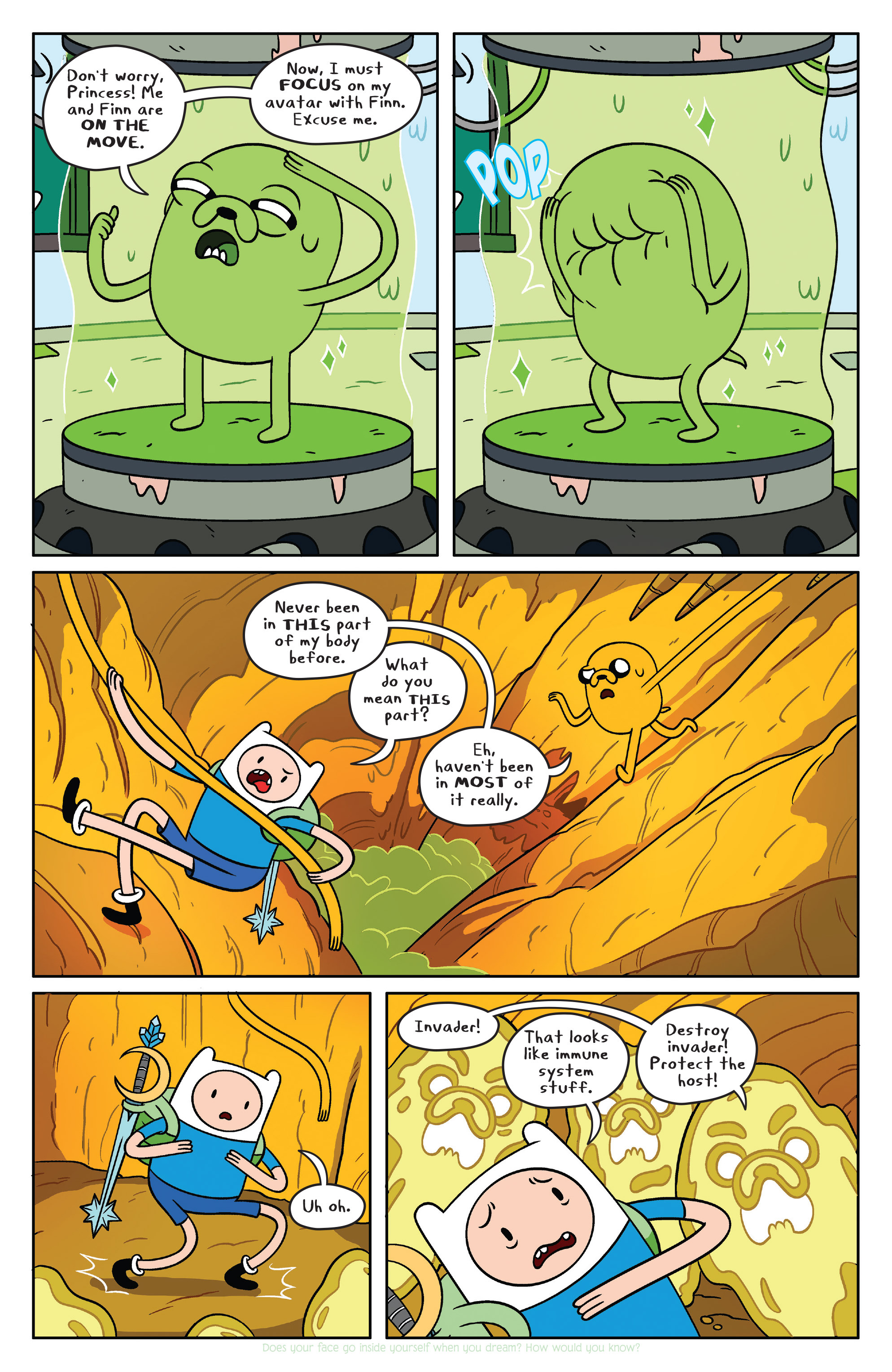 Read online Adventure Time comic -  Issue #38 - 6
