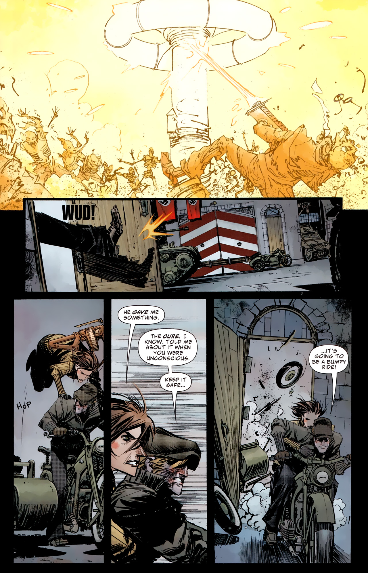 Read online American Vampire: Survival of the Fittest comic -  Issue #4 - 19