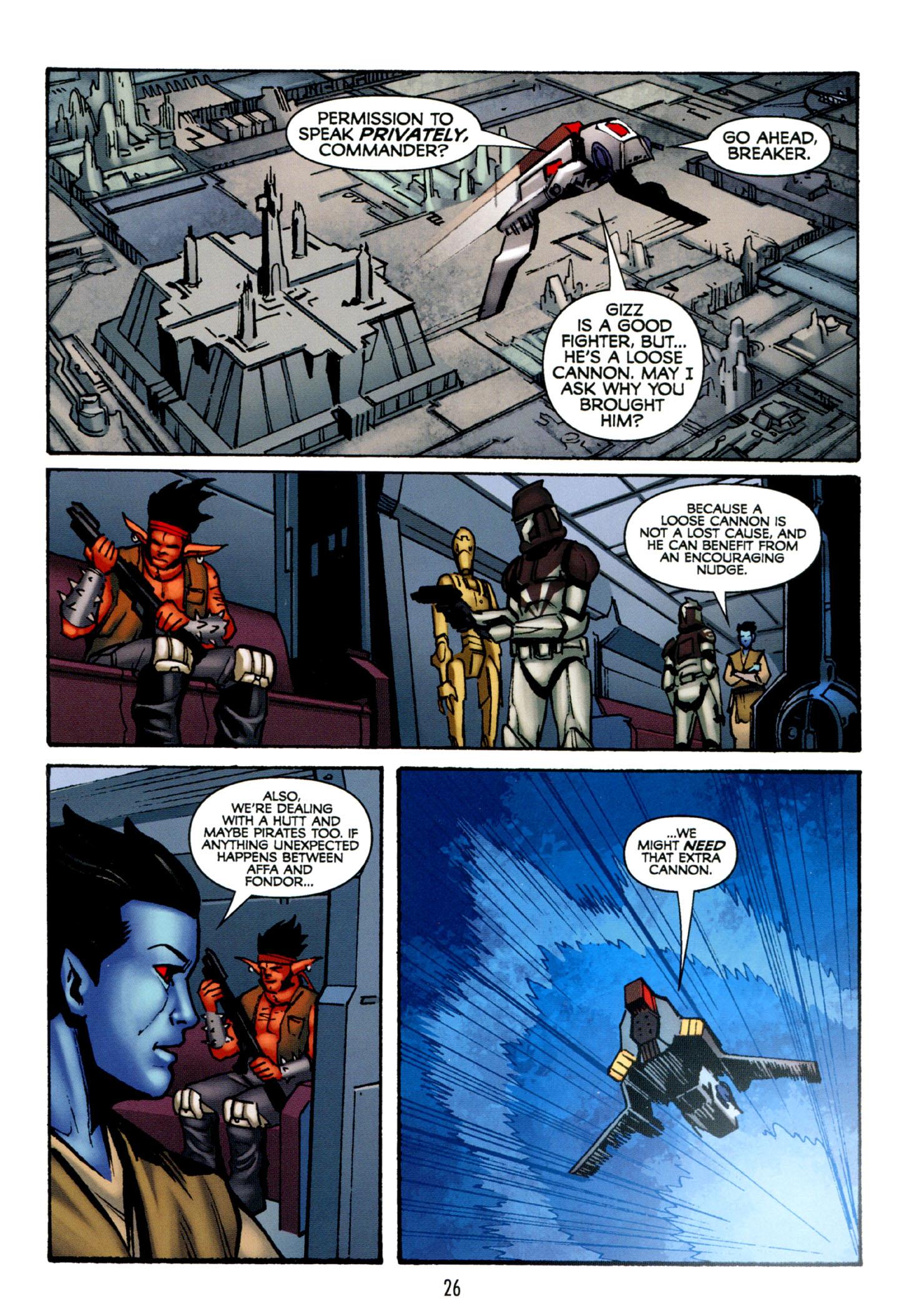 Read online Star Wars: The Clone Wars - Strange Allies comic -  Issue # Full - 27