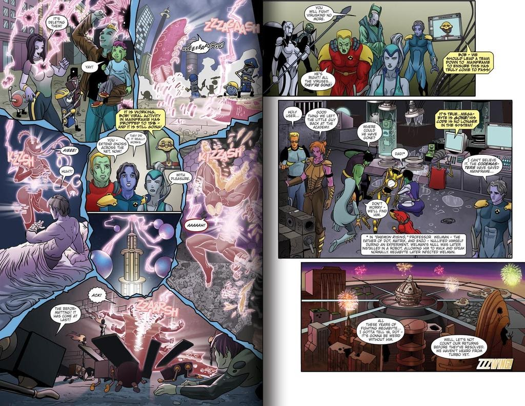 Read online ReBoot: Paradigms Lost comic -  Issue # Full - 11