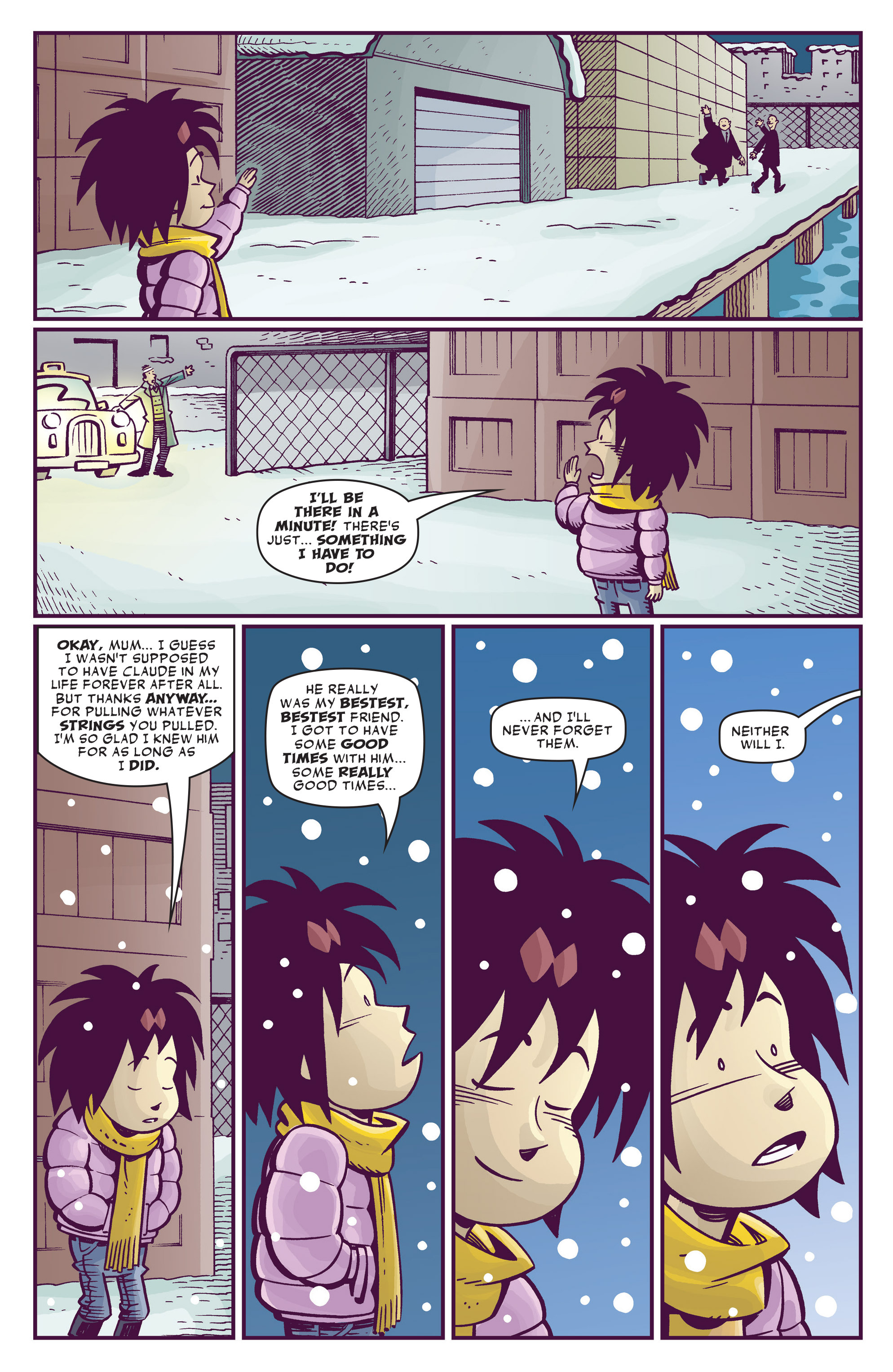 Read online Abigail And The Snowman comic -  Issue #4 - 35