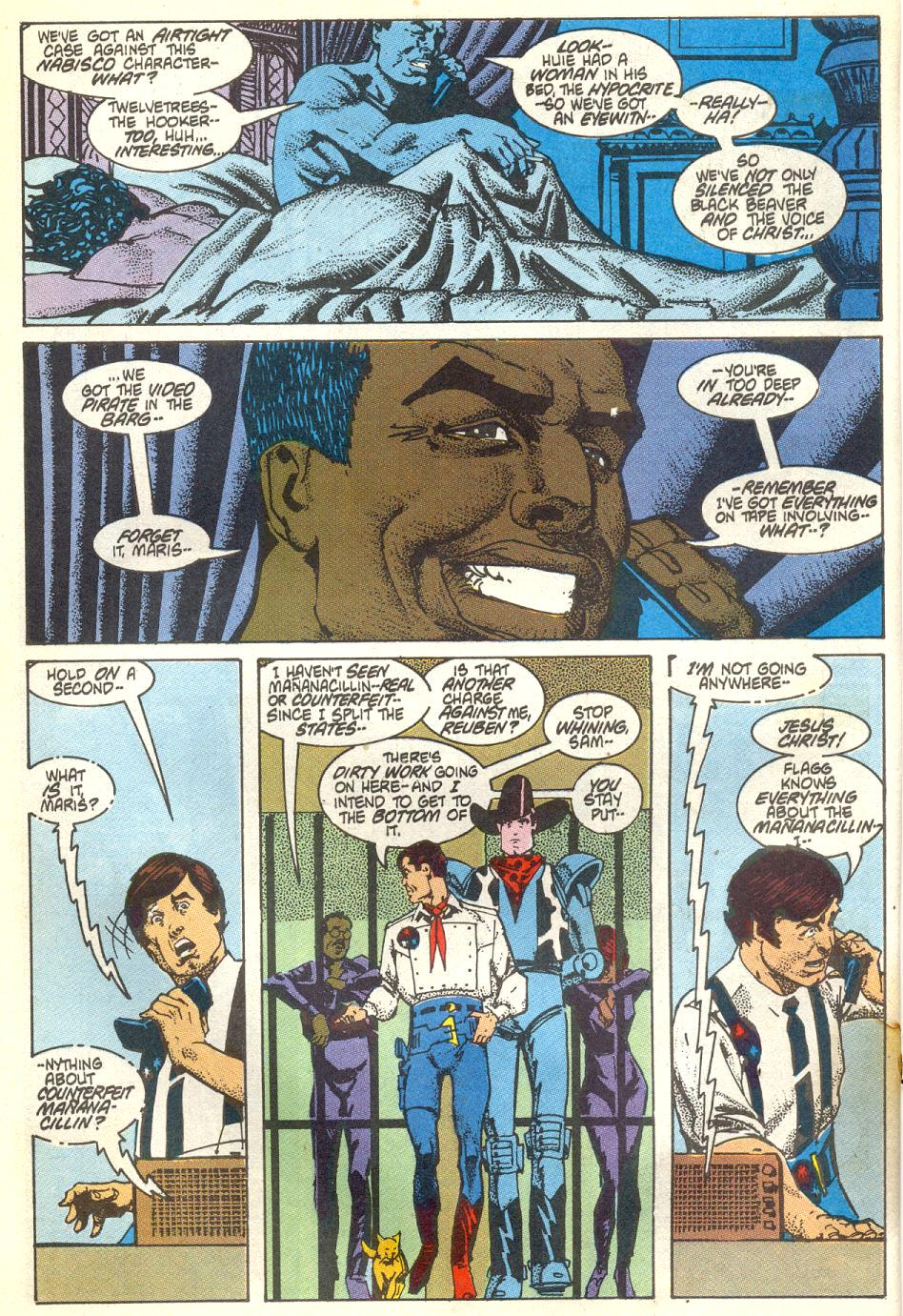 Read online American Flagg! comic -  Issue #17 - 15
