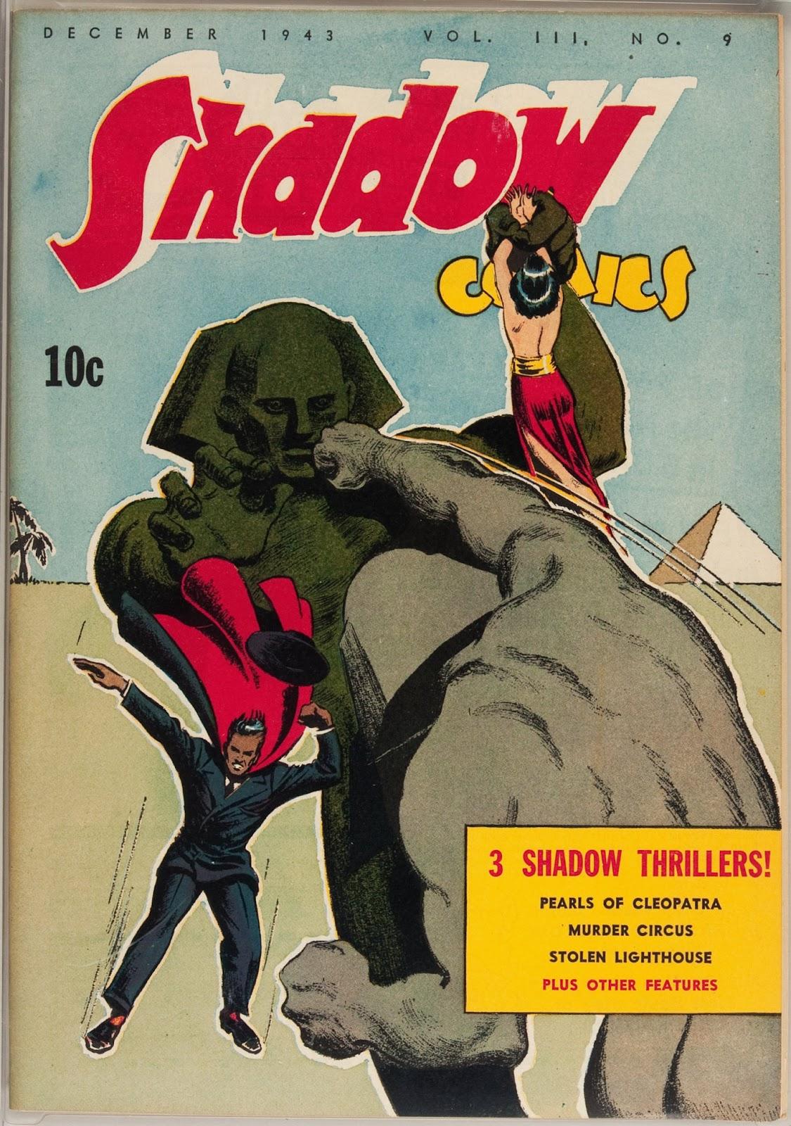 Shadow Comics 33 Page 1