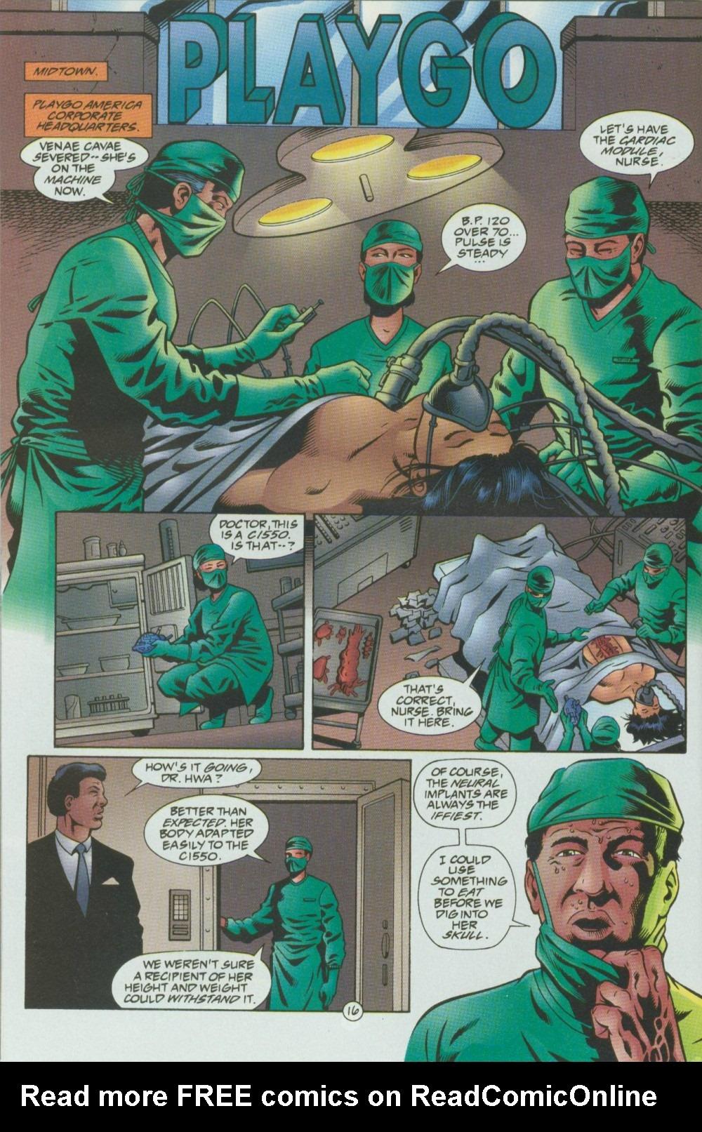Read online Sludge comic -  Issue #8 - 17