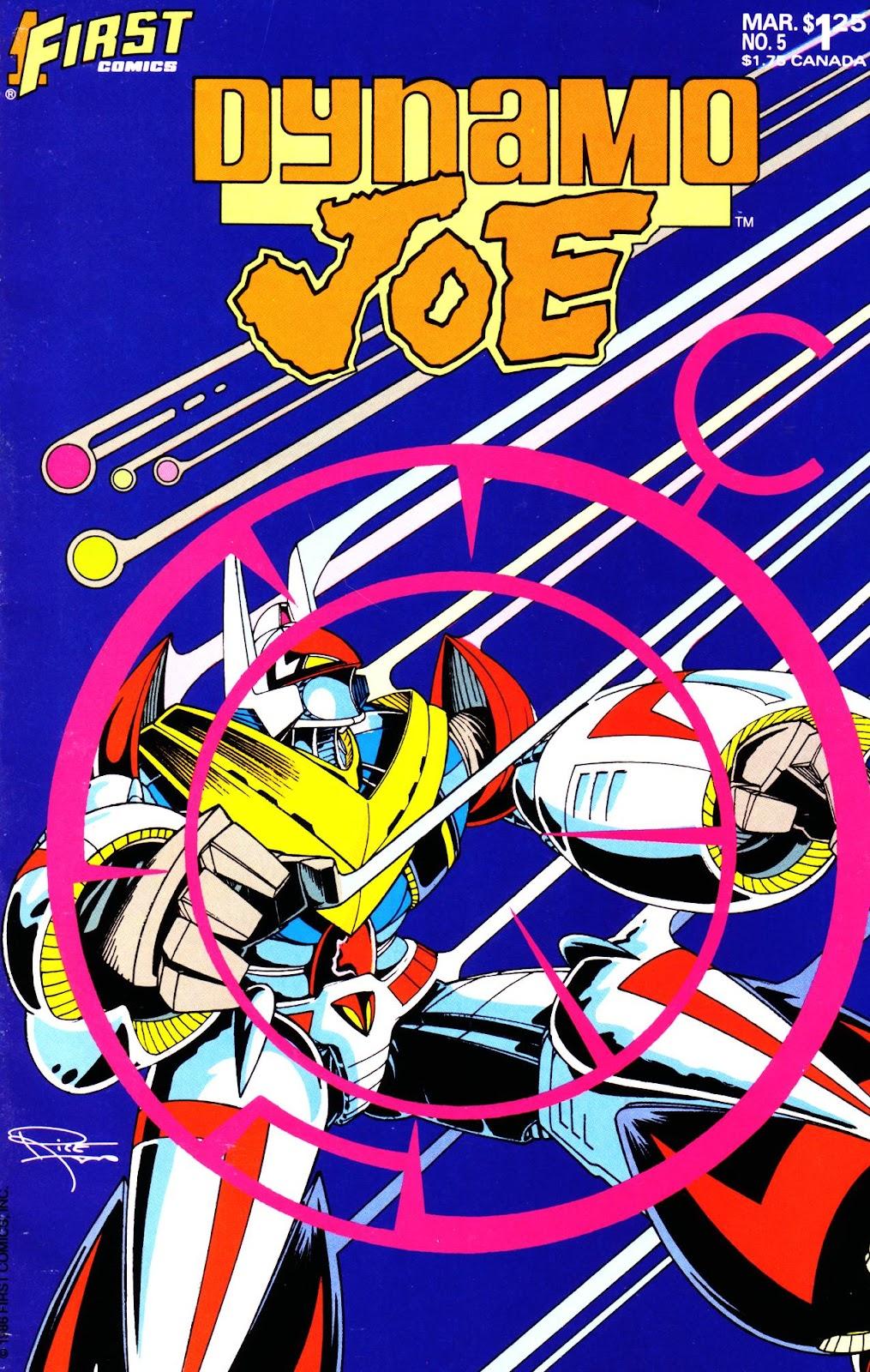Dynamo Joe issue 5 - Page 1