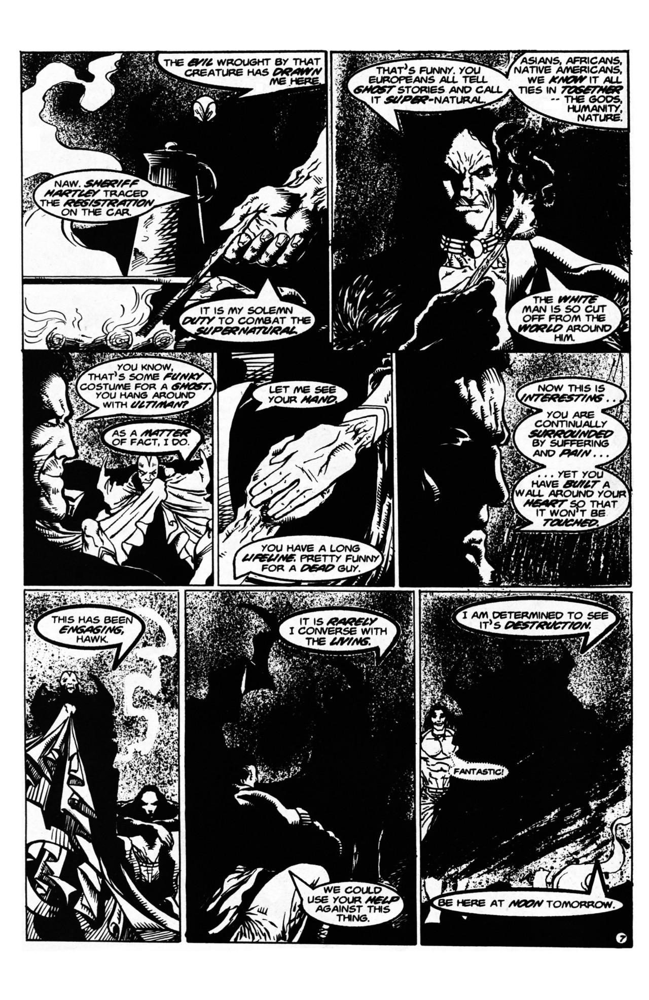 Read online Dr. Weird (1997) comic -  Issue #1 - 9