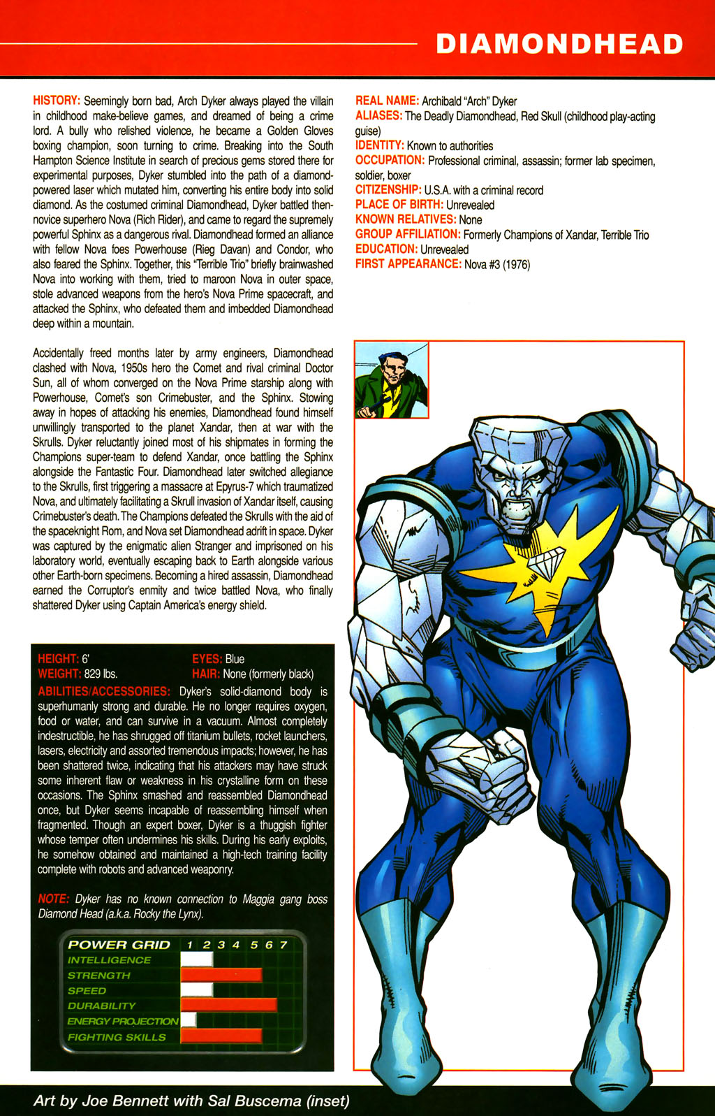 Read online All-New Official Handbook of the Marvel Universe A to Z comic -  Issue #3 - 53