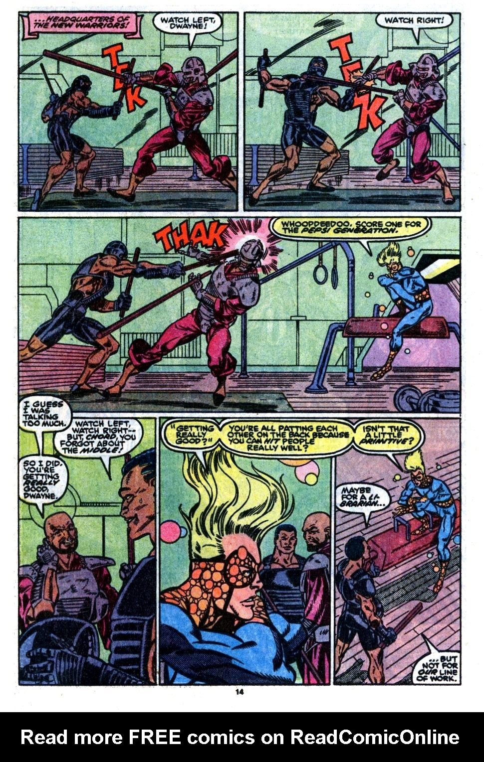 The New Warriors Issue #7 #11 - English 11