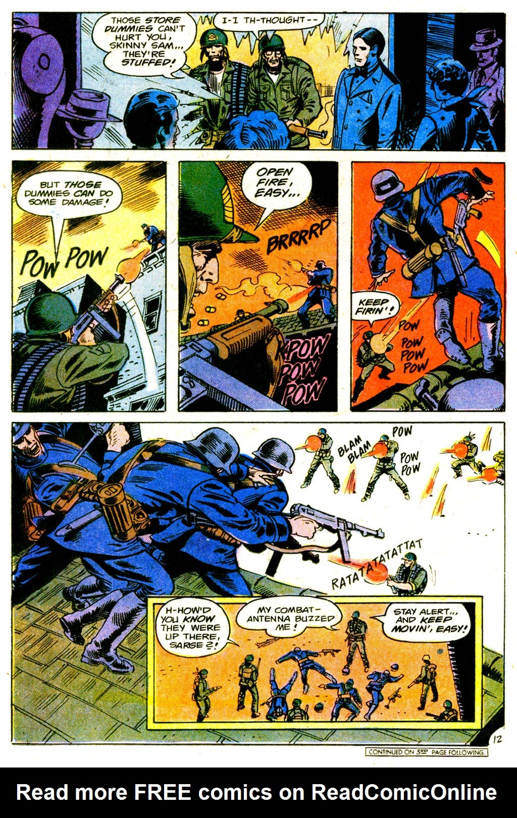 Read online Sgt. Rock comic -  Issue #317 - 21