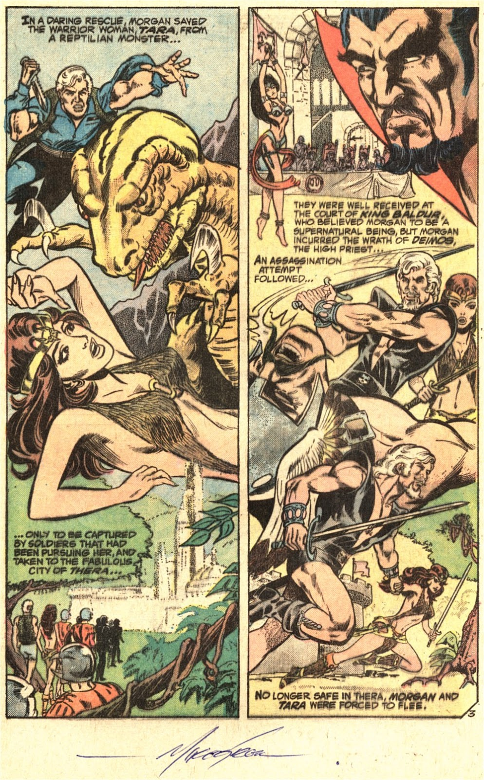 Warlord (1976) issue 1 - Page 4