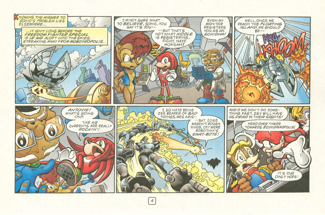 Read online Sonic Super Special comic -  Issue #12 - Sonic and Knuckles visa versa - 7