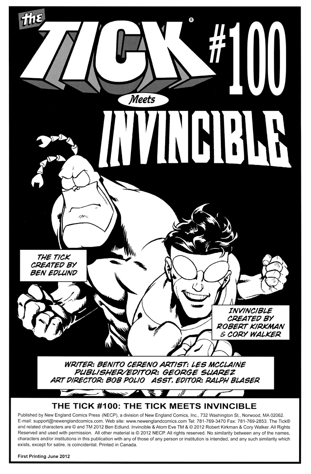 Read online The Tick comic -  Issue #100 - 2